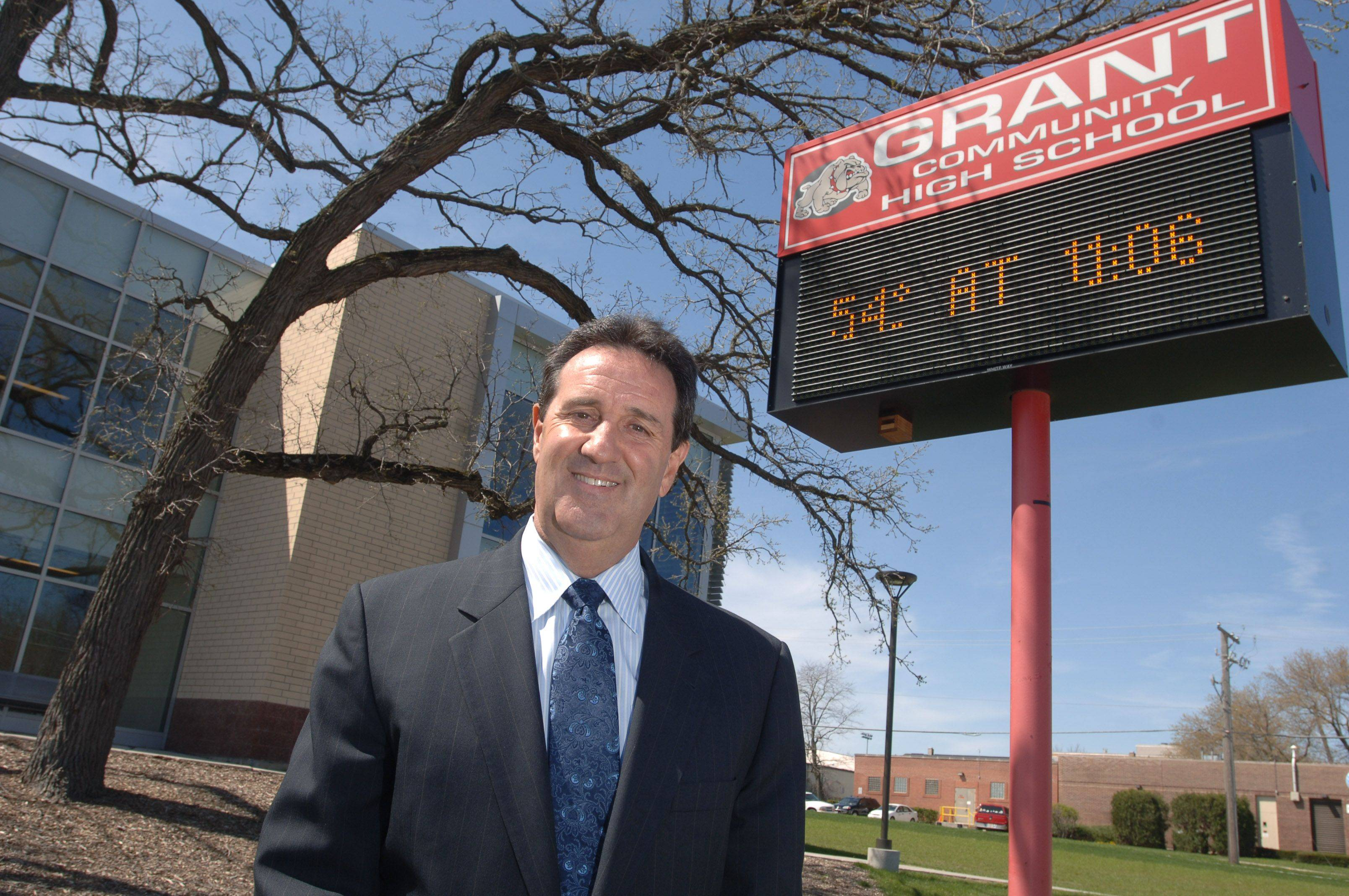 John Benedetti, the longtime superintendent of Grant High School District 124, announced he will retire from the district in 2012. Assistant Superintendent Christi Sefcik will take over when Benedetti steps down.