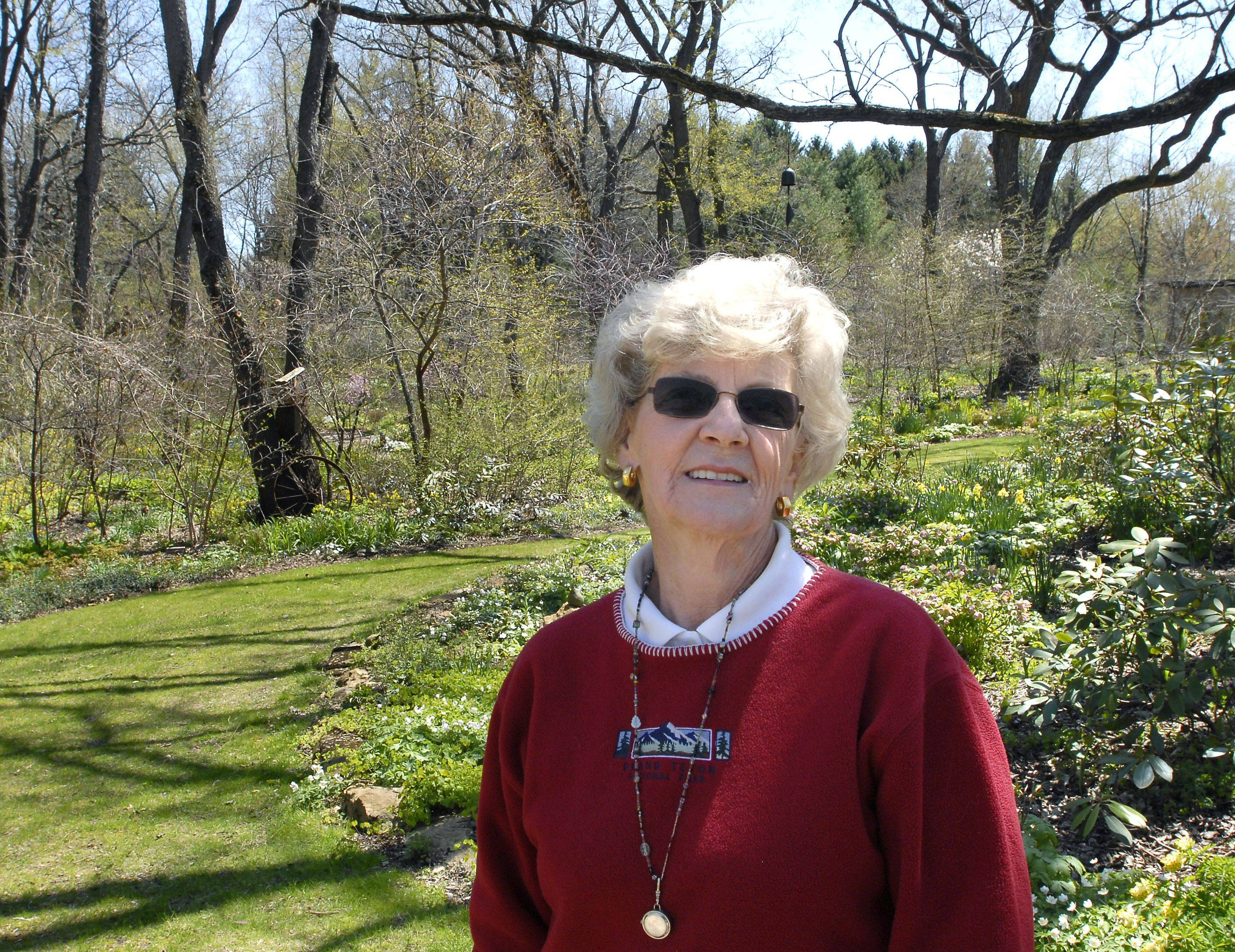 Twenty years of work have given Barbara Wetzel of Barrington Hills, who has gardened most of her life, 6 acres of beautiful woodland, rock and prairie gardens.