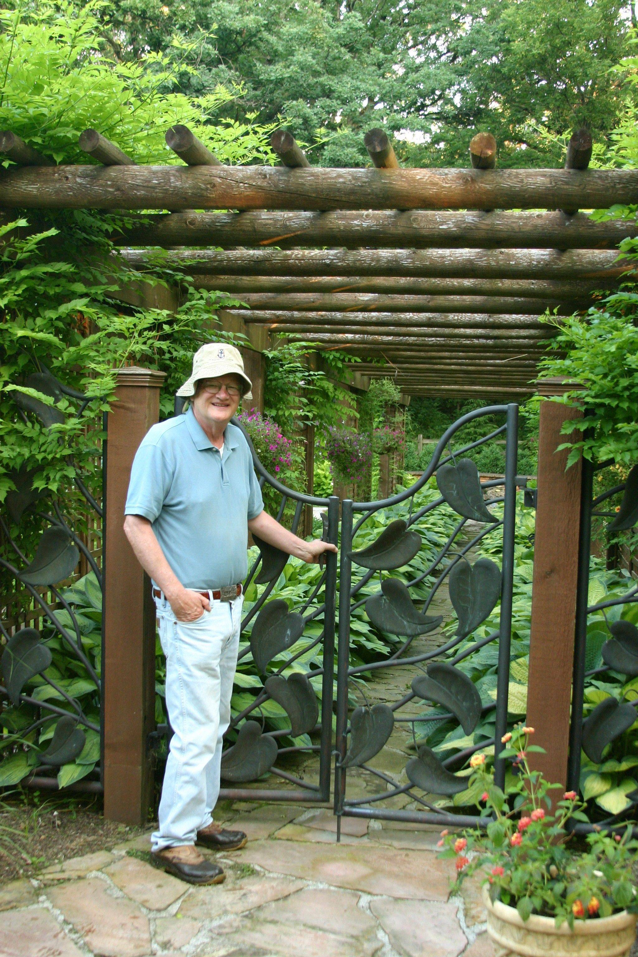 Ted Nyquist of Bartlett will open his garden to the public on May 22.