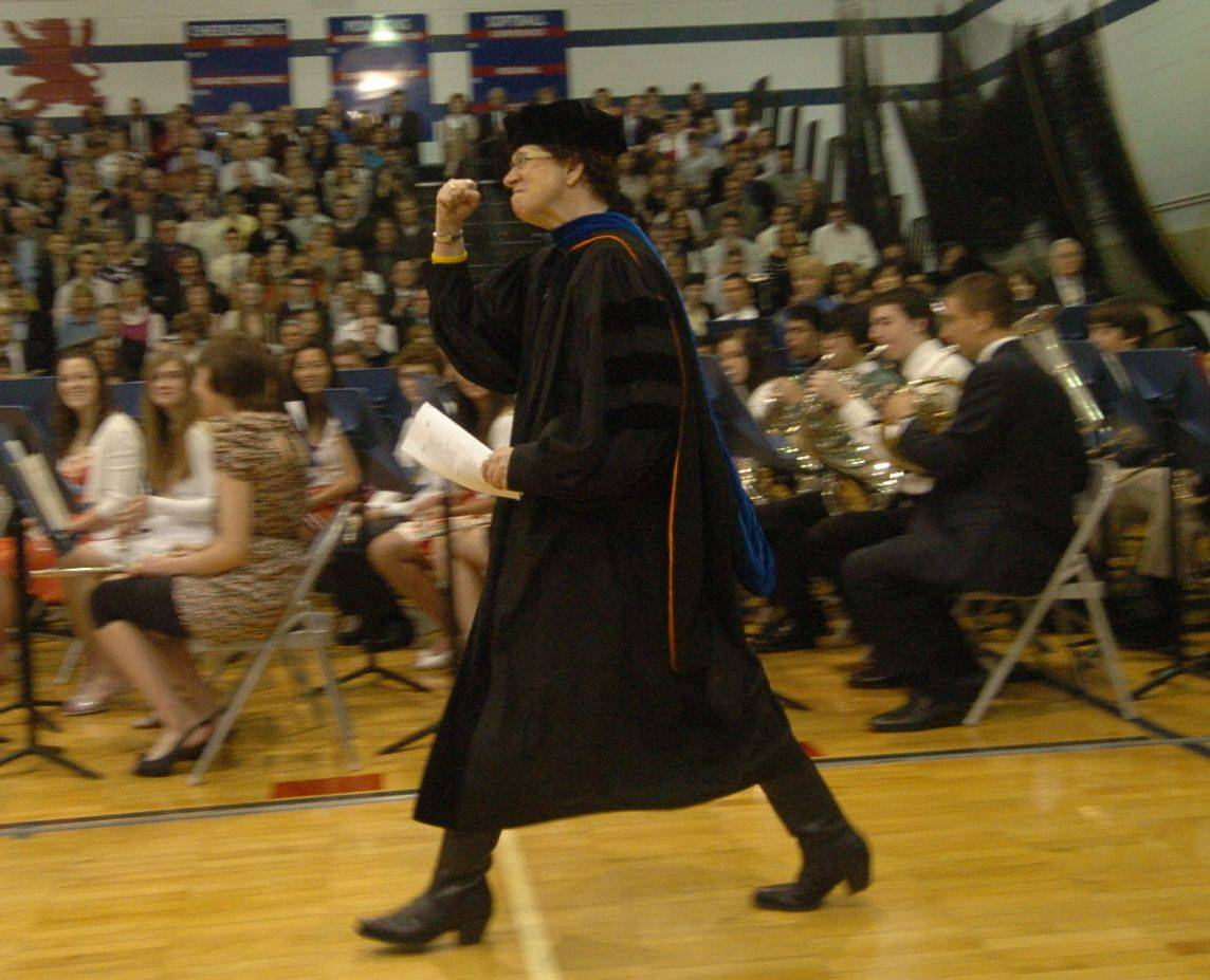 Images from the St. Viator High School graduation on Sunday, May 15th.