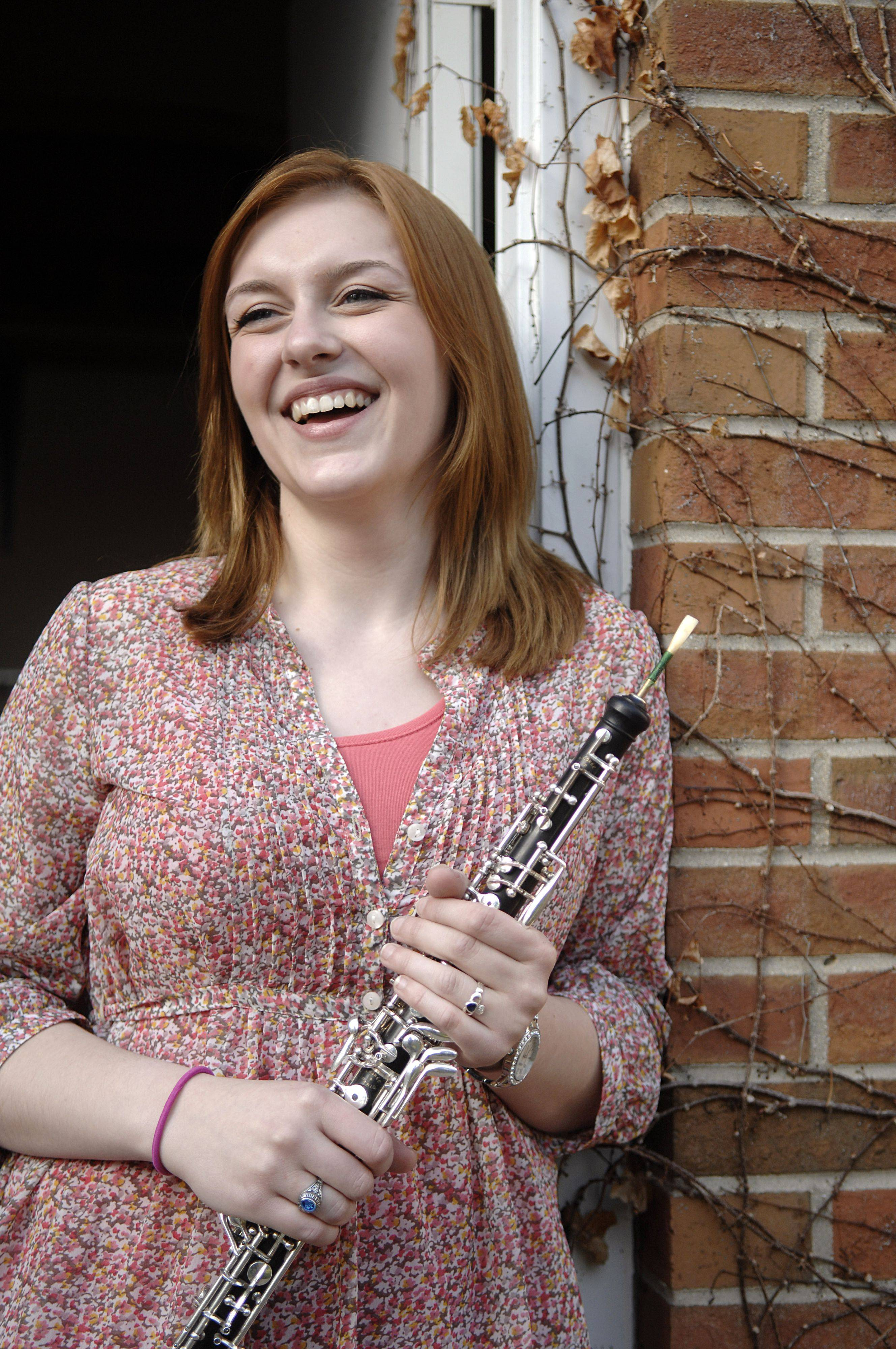 Emily Fagan of Aurora won the Elgin Youth Symphony Orchestra's Young Artists Concerto Competition, a remarkable feat considering all she's been through in the last few years.