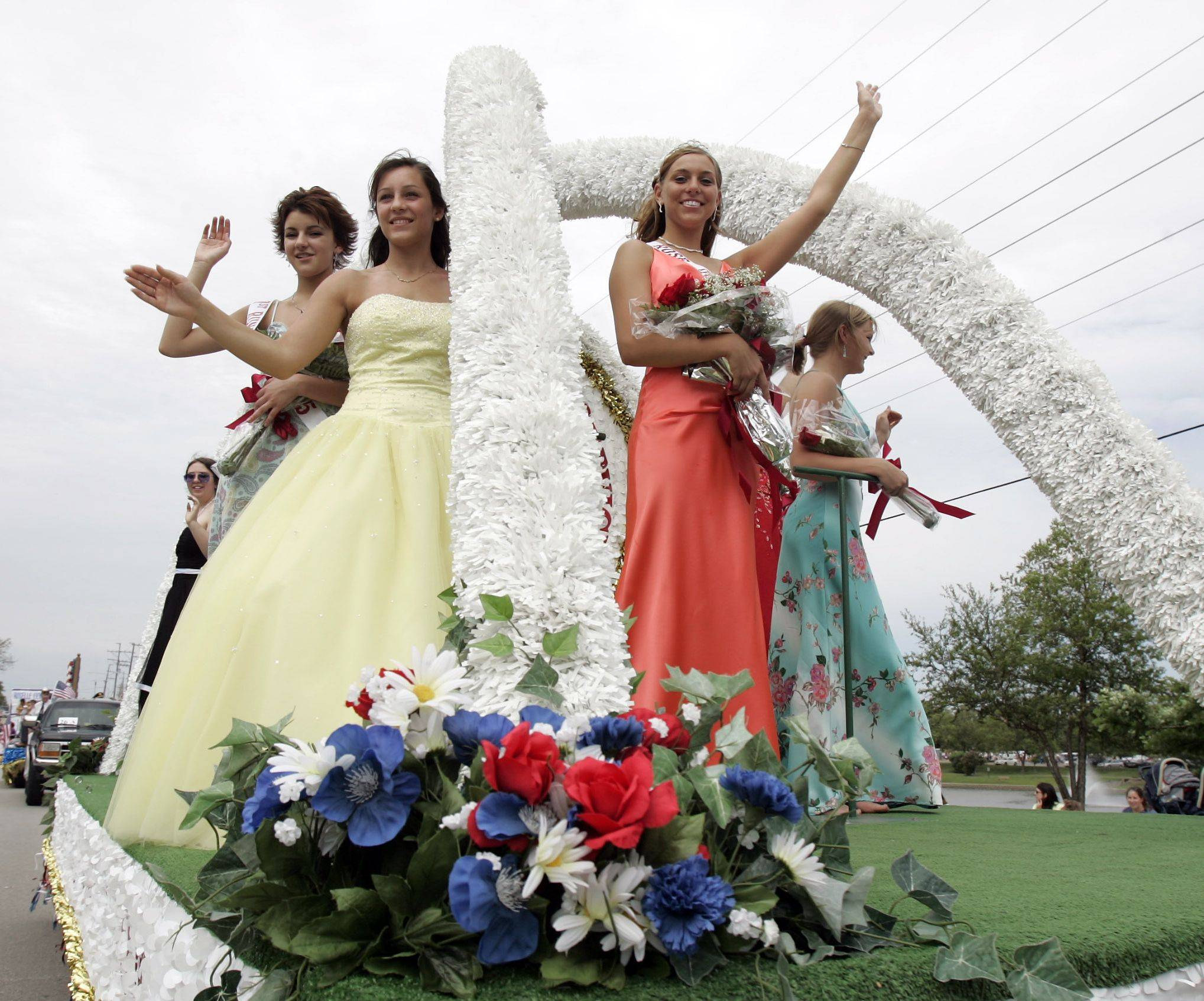 The winner of the Rose Queen pageant this week will lead a float in the annual Rose Parade Sunday, June 5.