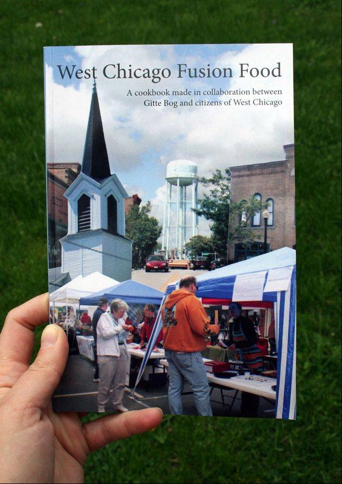 Artist unveils West Chicago cookbook