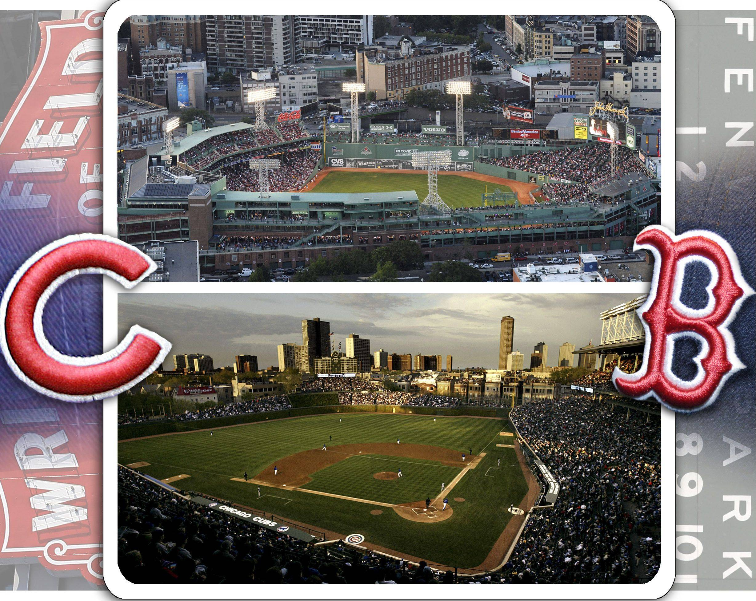 Comparing cathedrals: Fenway vs. Wrigley