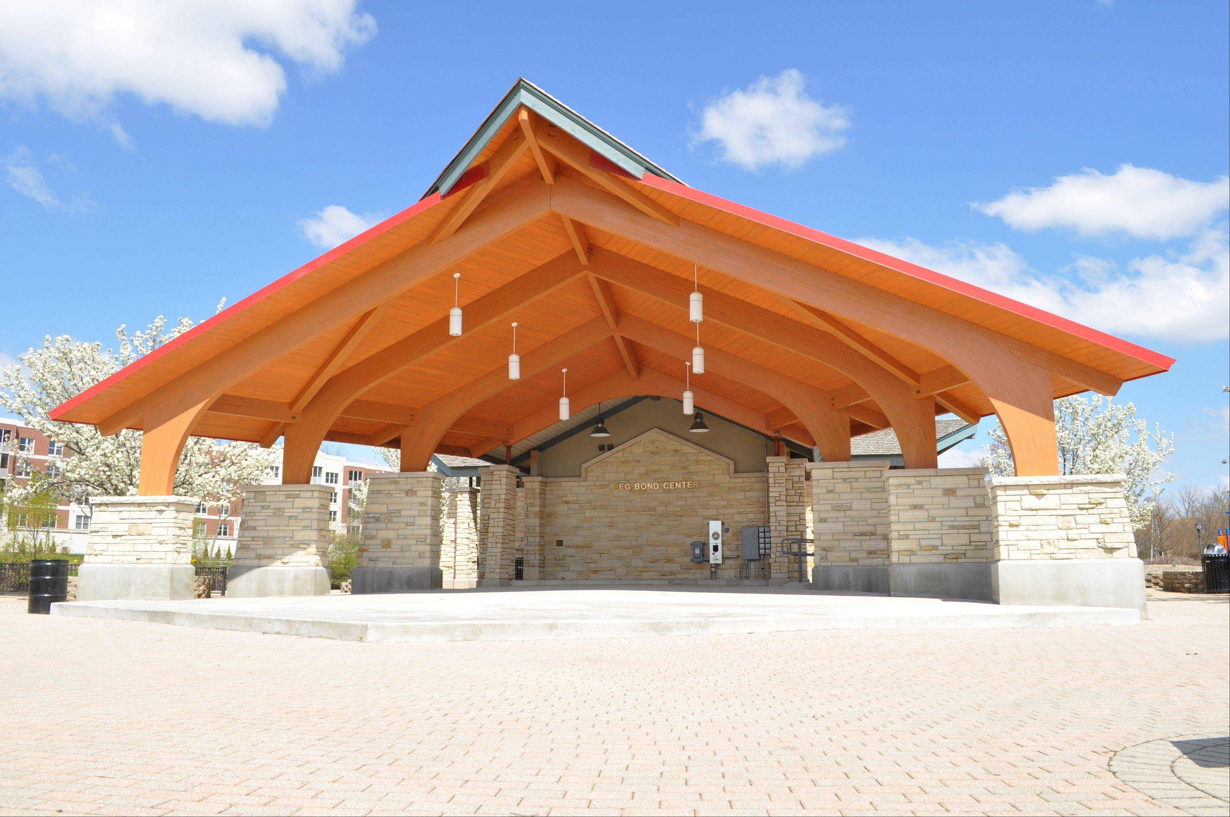 Celebrate the grand opening and dedication of the Peg Bond Center Performing Arts Pavilion in Batavia on Sunday, May 22.