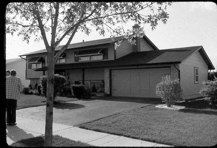 Brantwood Ave. in Elk Grove Village as seen in May 1976, where Frank and Mary Columbo, along with their son Michael, were killed on May 4, 1976.