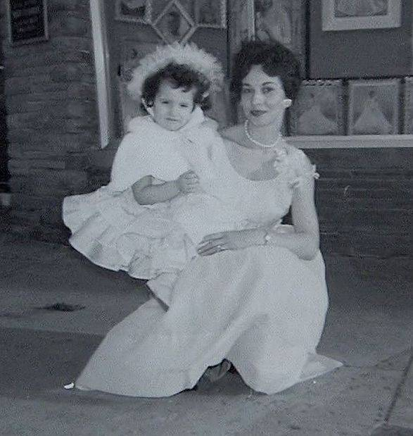 Patricia Columbo as a child with her mother Mary. Patty was convicted of murdering her family on May 7th, 1976.