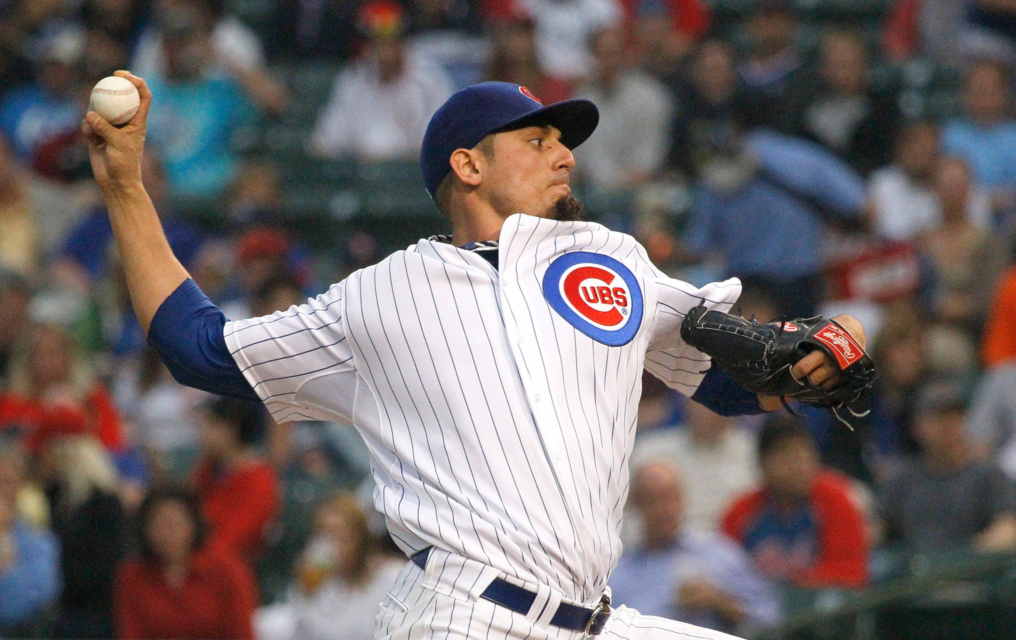 Cubs' rotation in flux; RHP Garza scratched