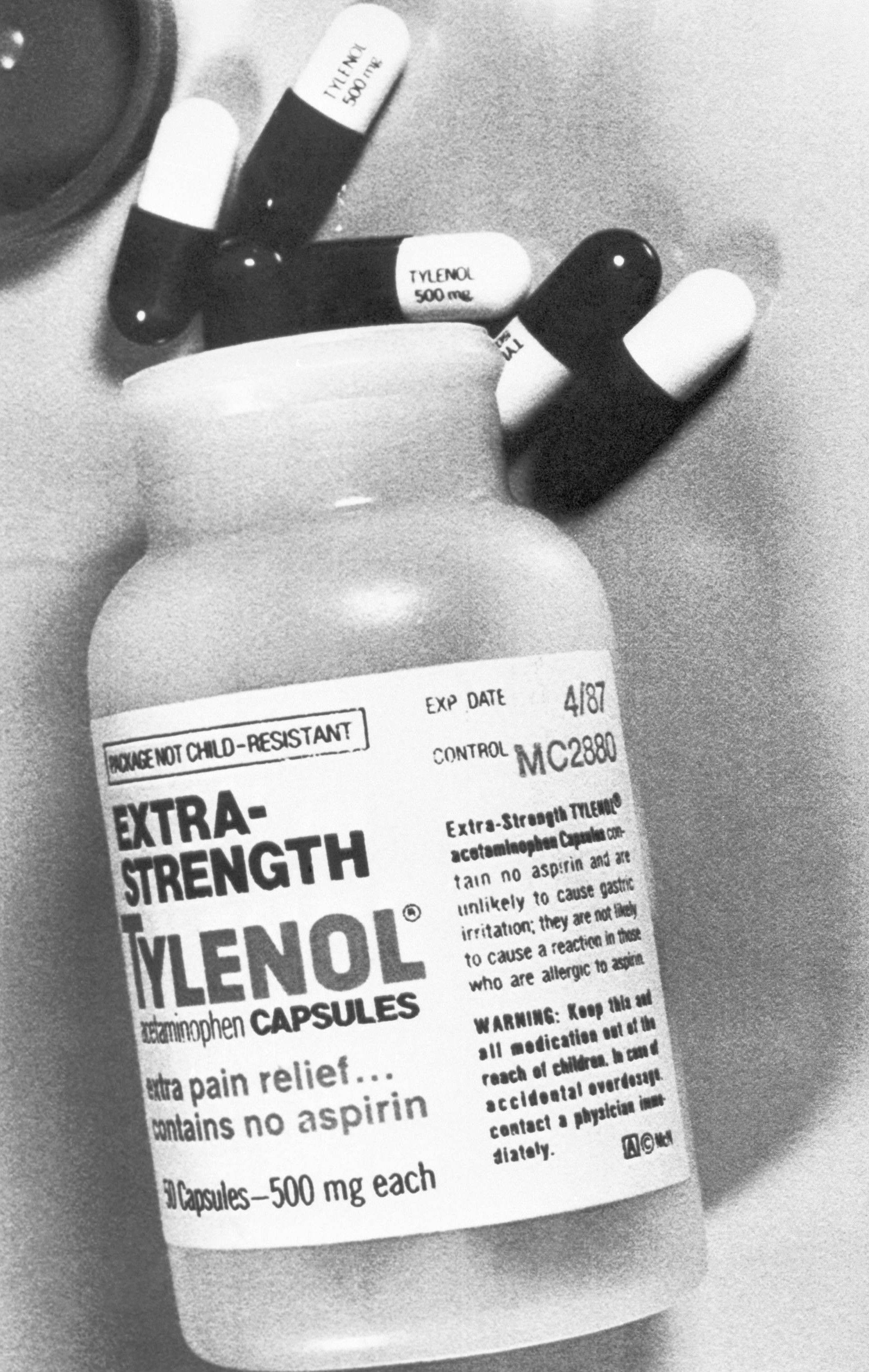 how to open tylenol extra strength bottle