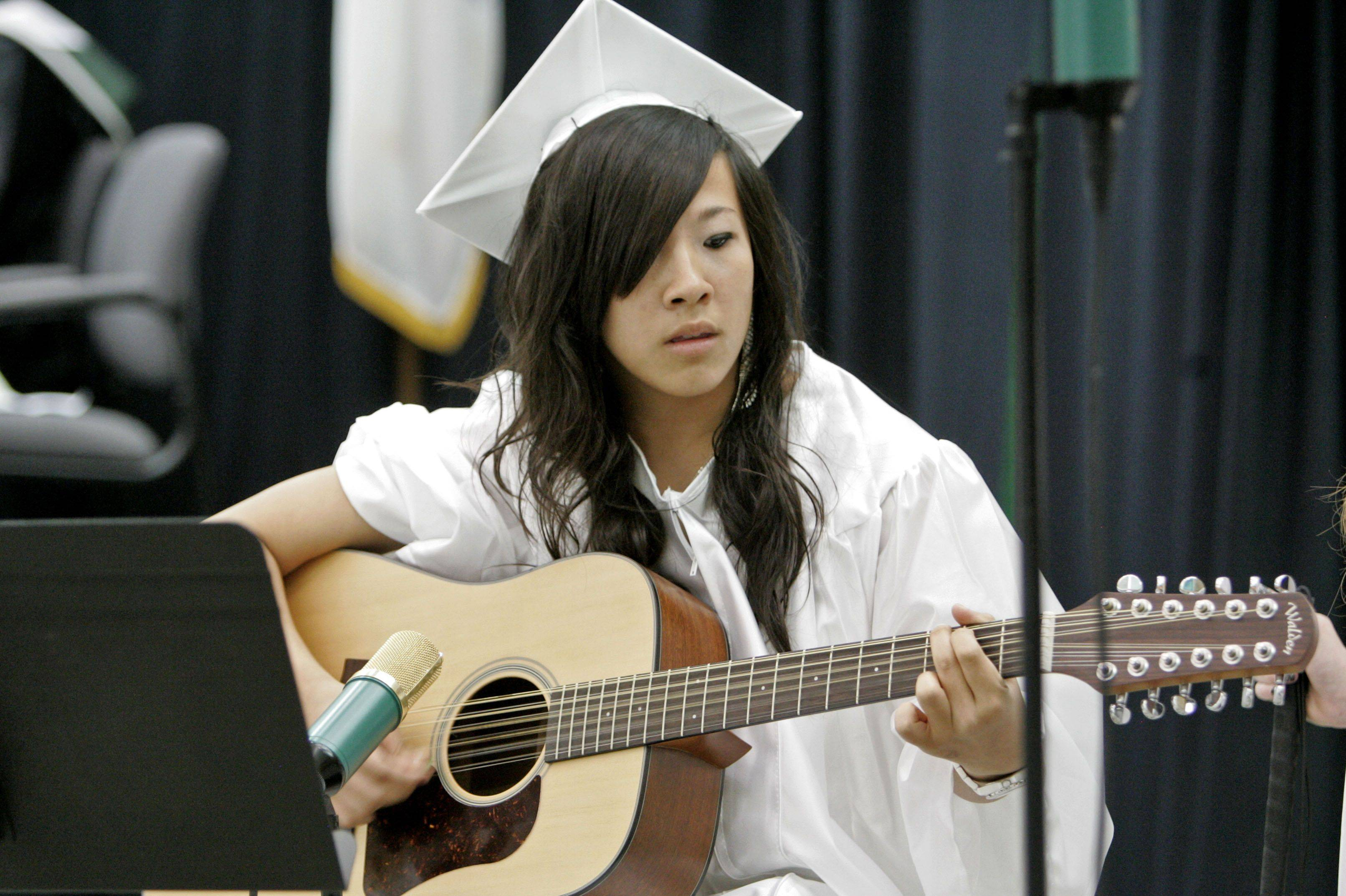 Images from the Grayslake Central High School graduation Sunday, May 22.