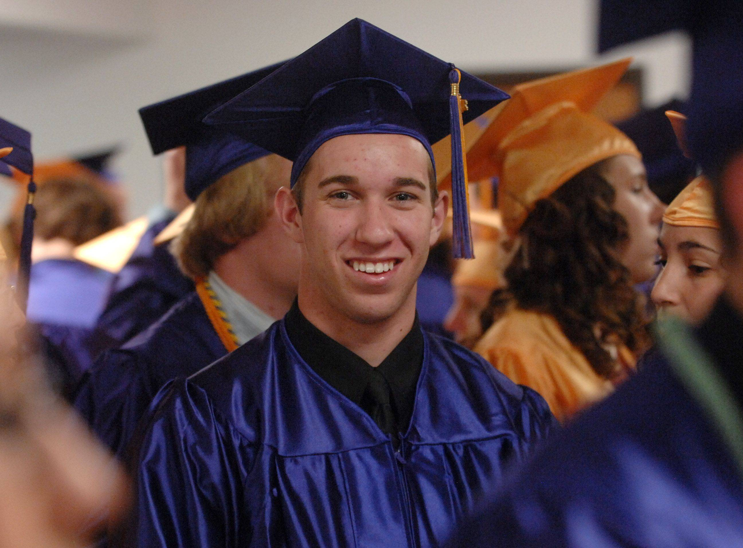 Images from the Wauconda High School graduation Sunday, May 22 at the Quentin Road Bible Baptist Church in Lake Zurich.