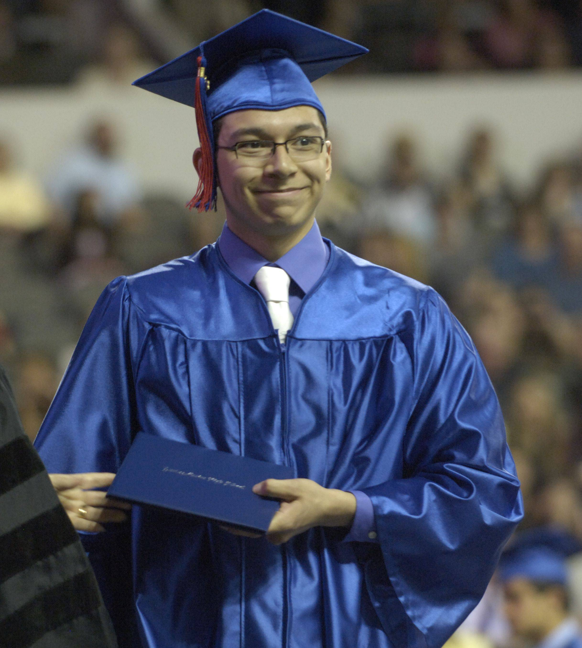 Images from the Dundee-Crown High School commencement ceremony at the Sears Centre Saturday, May 21, 2011.