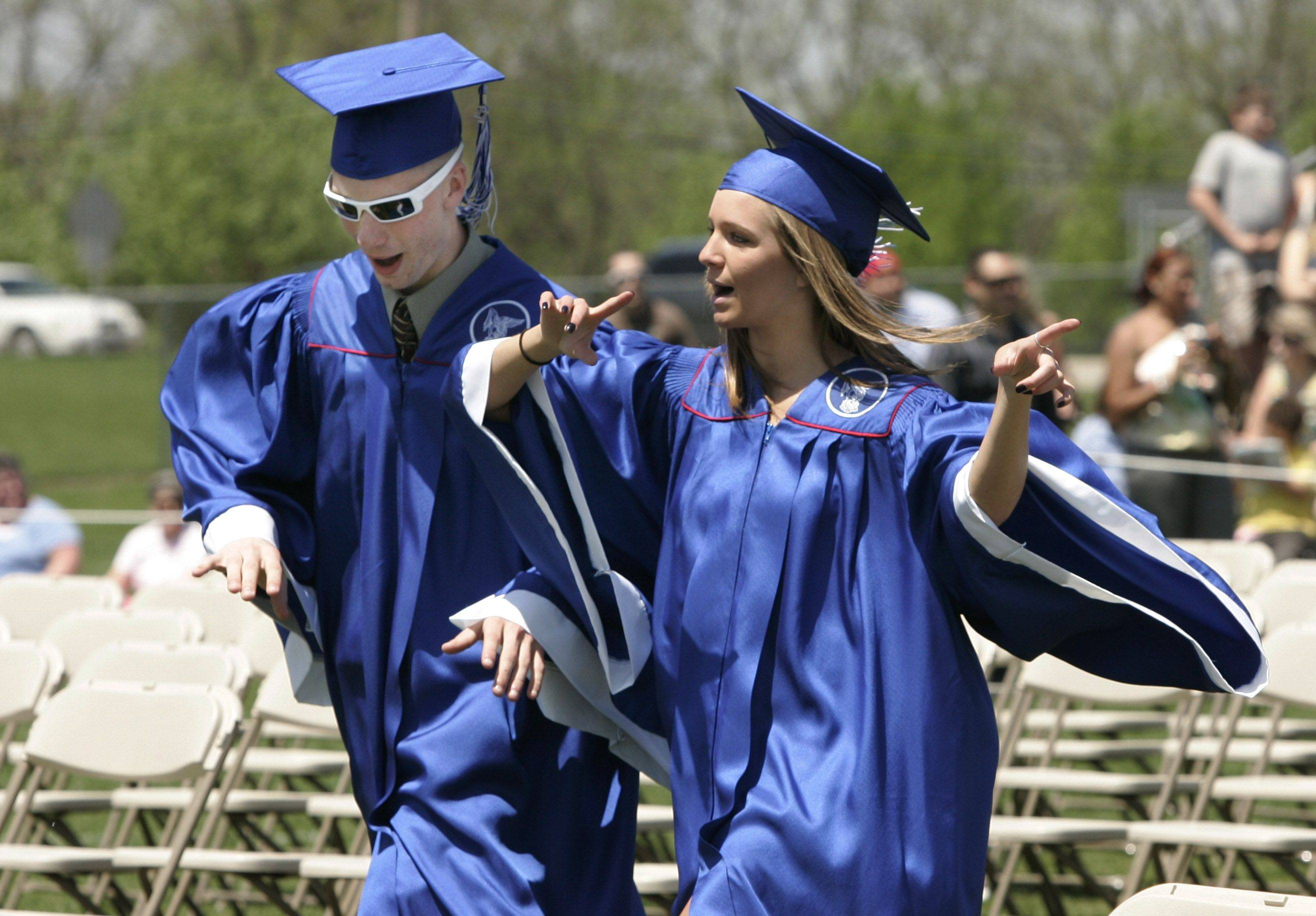 Images: Lakes Community High School graduation