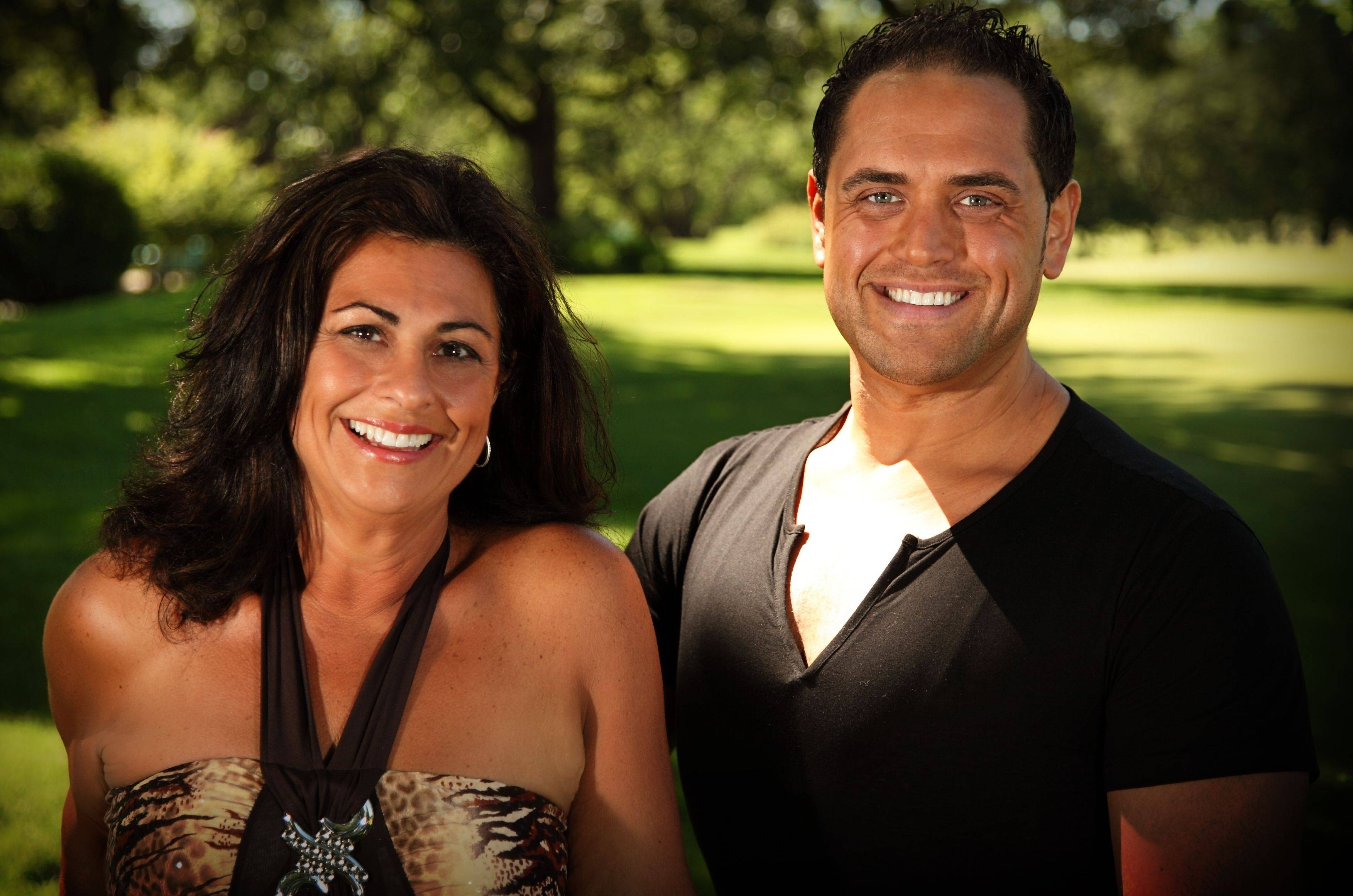 """Biggest Loser"" winner Michael Ventrella with his mother Maria."