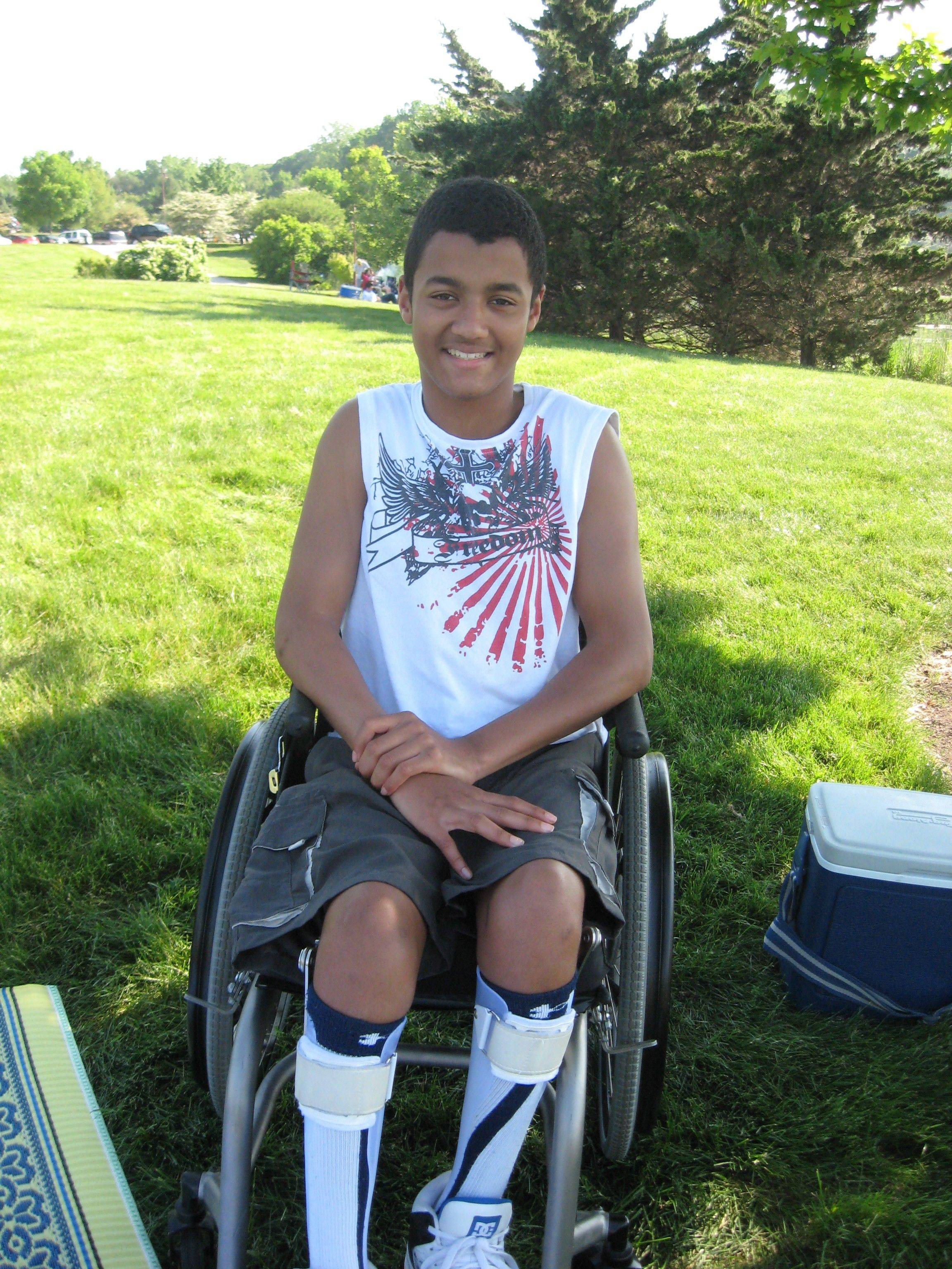 It will cost more than $5,000 to replace Marlon Tapang's customized wheelchair, which was stolen Friday in Gurnee.