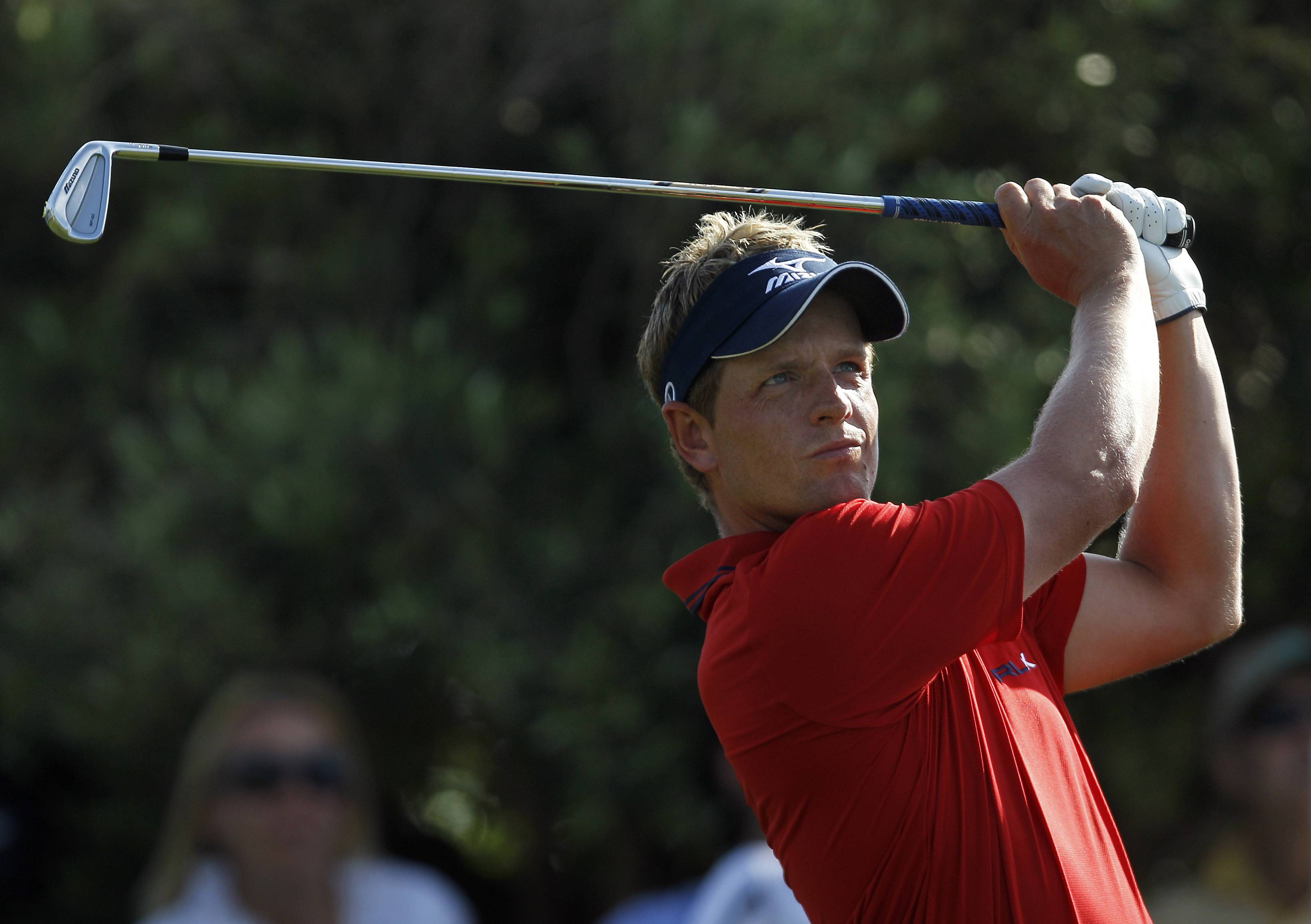 Luke Donald missed out on the chance to gain the No. 1 spot in the world rankings with his loss to Ian Poulter in the World Match Play final Sunday.