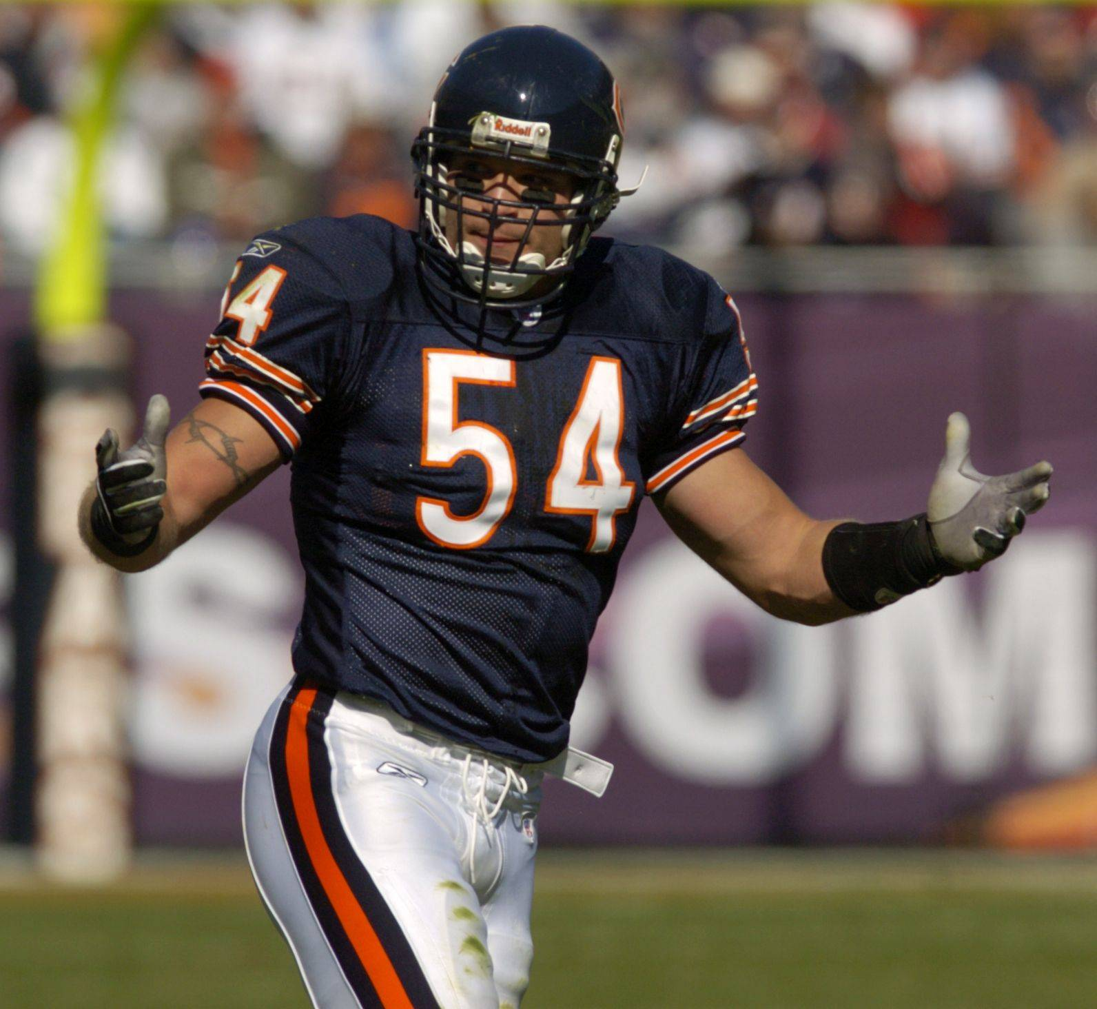 Bears linebacker Brian Urlacher is the new spokesman for Lincoln's Challenge Academy in Rantoul.