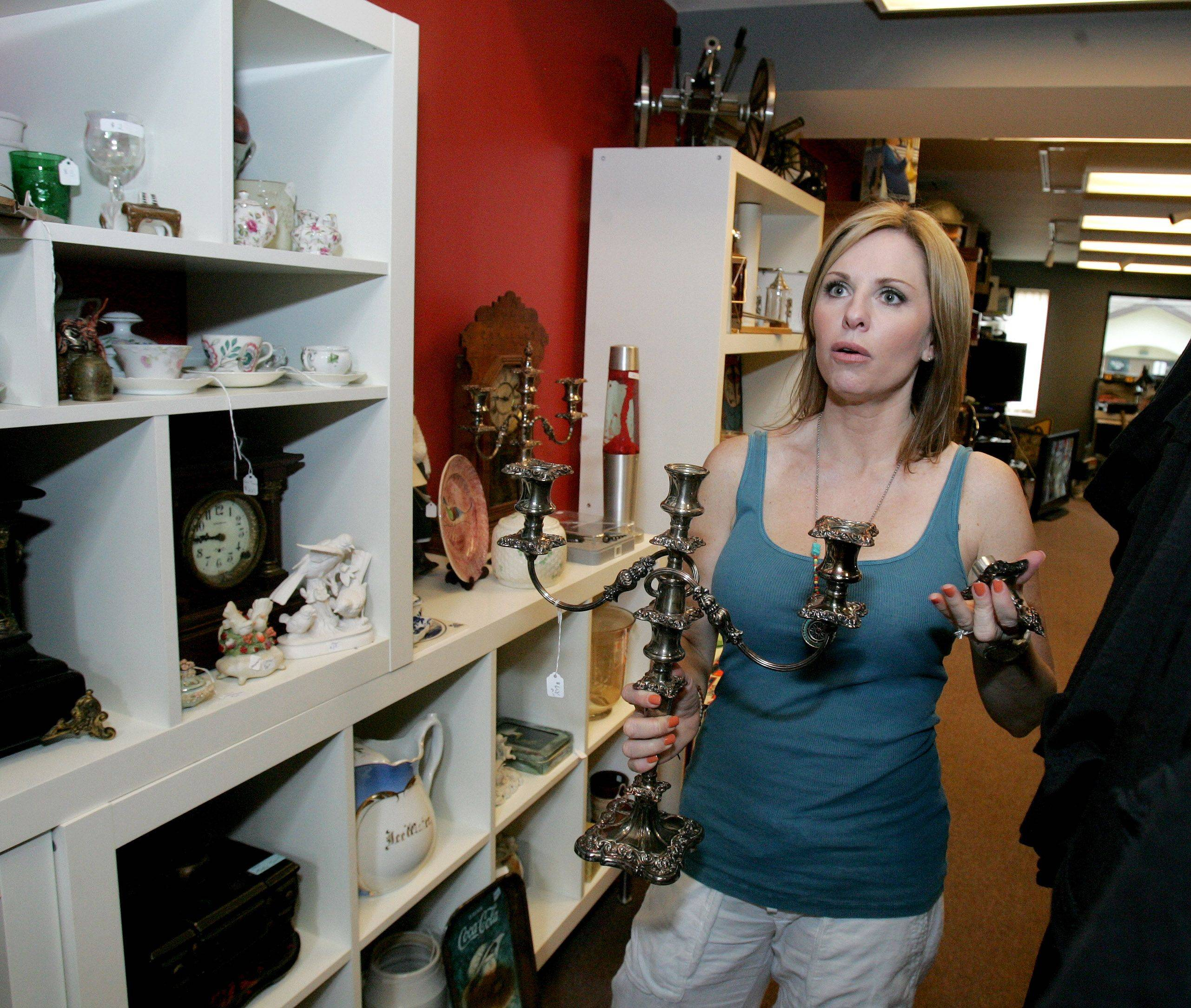 "Nikki Ruehl, co-owner of Naperville Jewelry & Loan, is one of a pair of ""Pawn Queens"" starring on TLC TV."