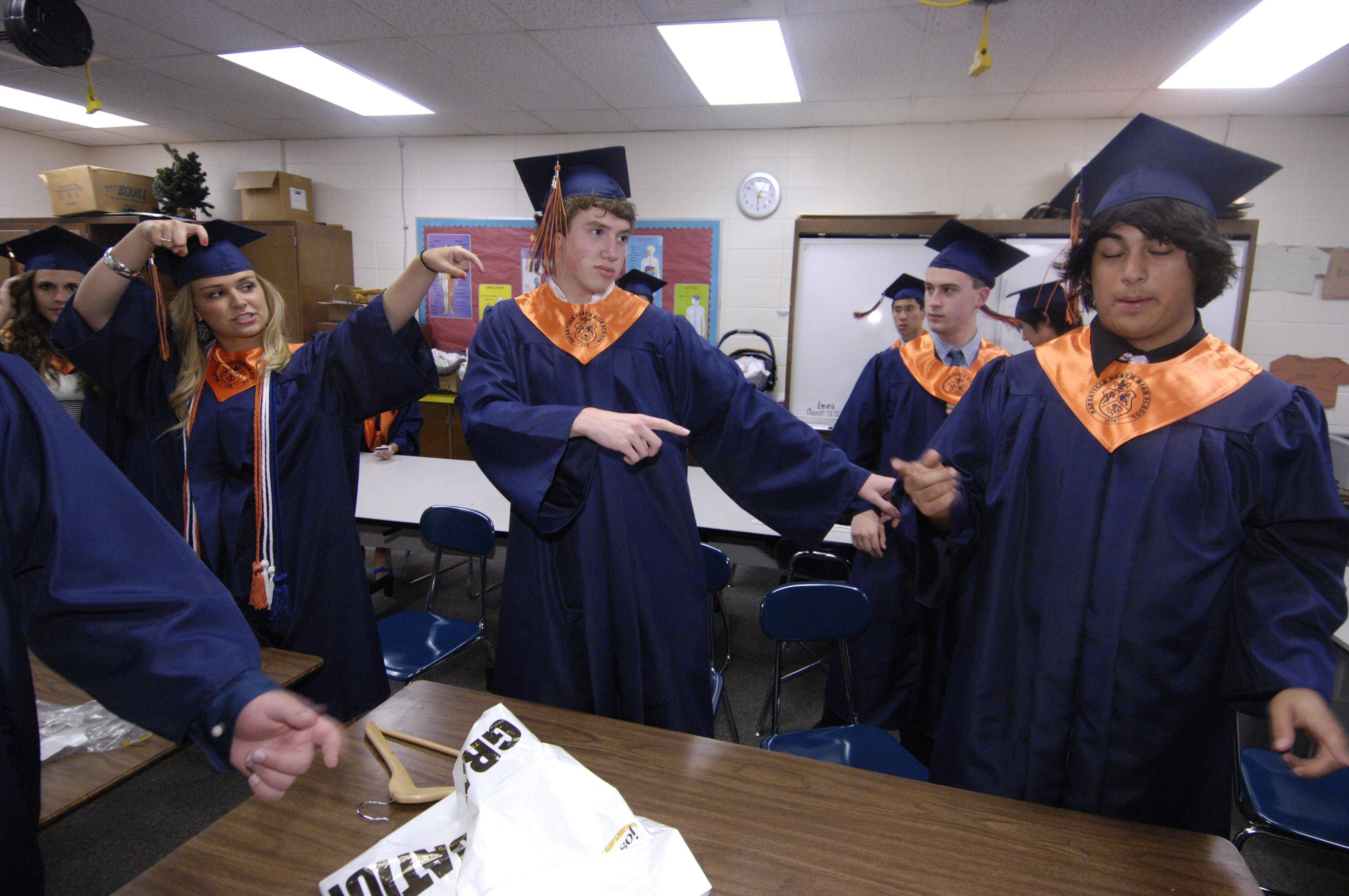 Images from the Naperville North High School graduation on Wednesday, May 25th.