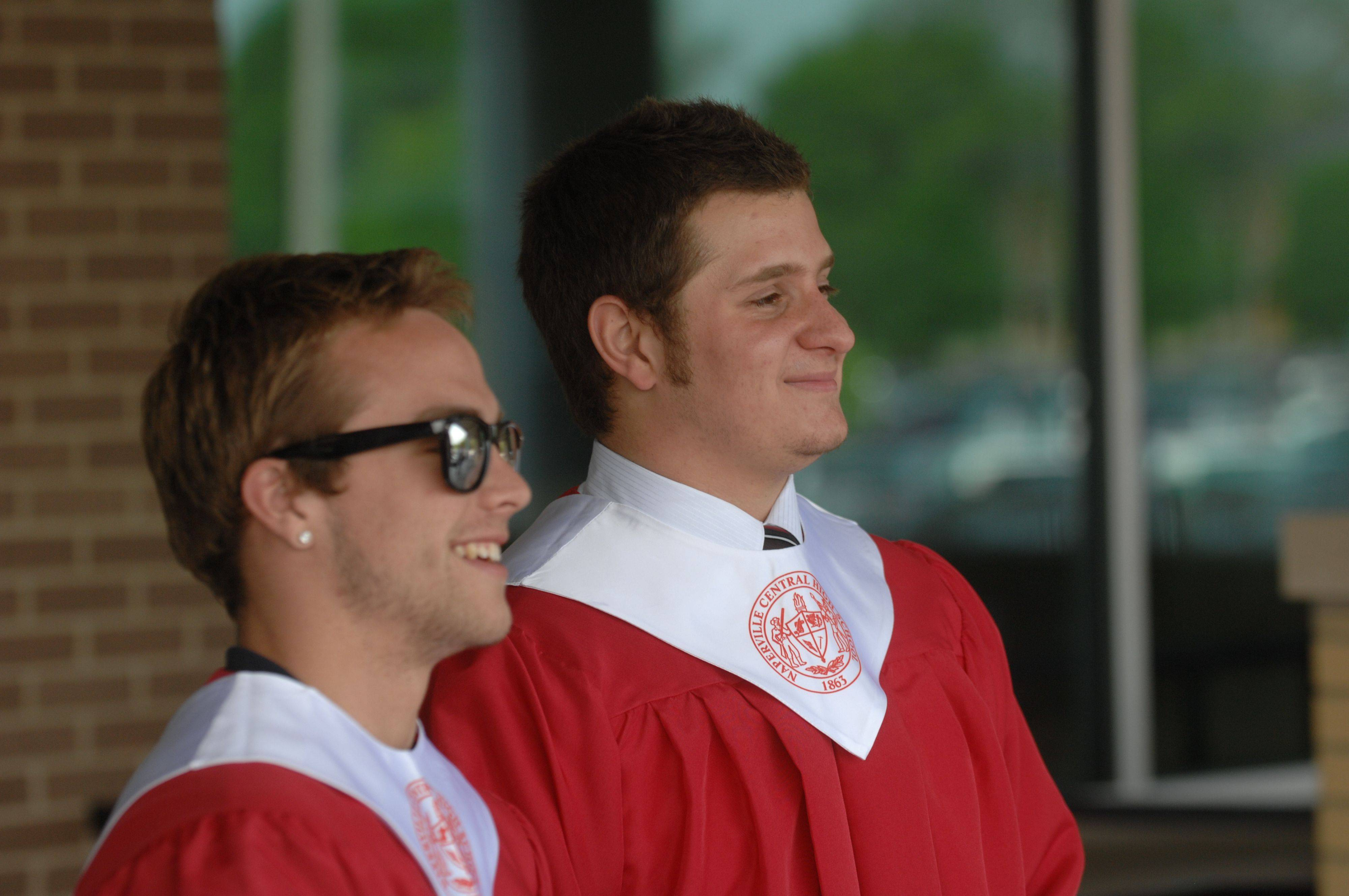 Images from the Naperville Central High School graduation on Wednesday, May 25th.