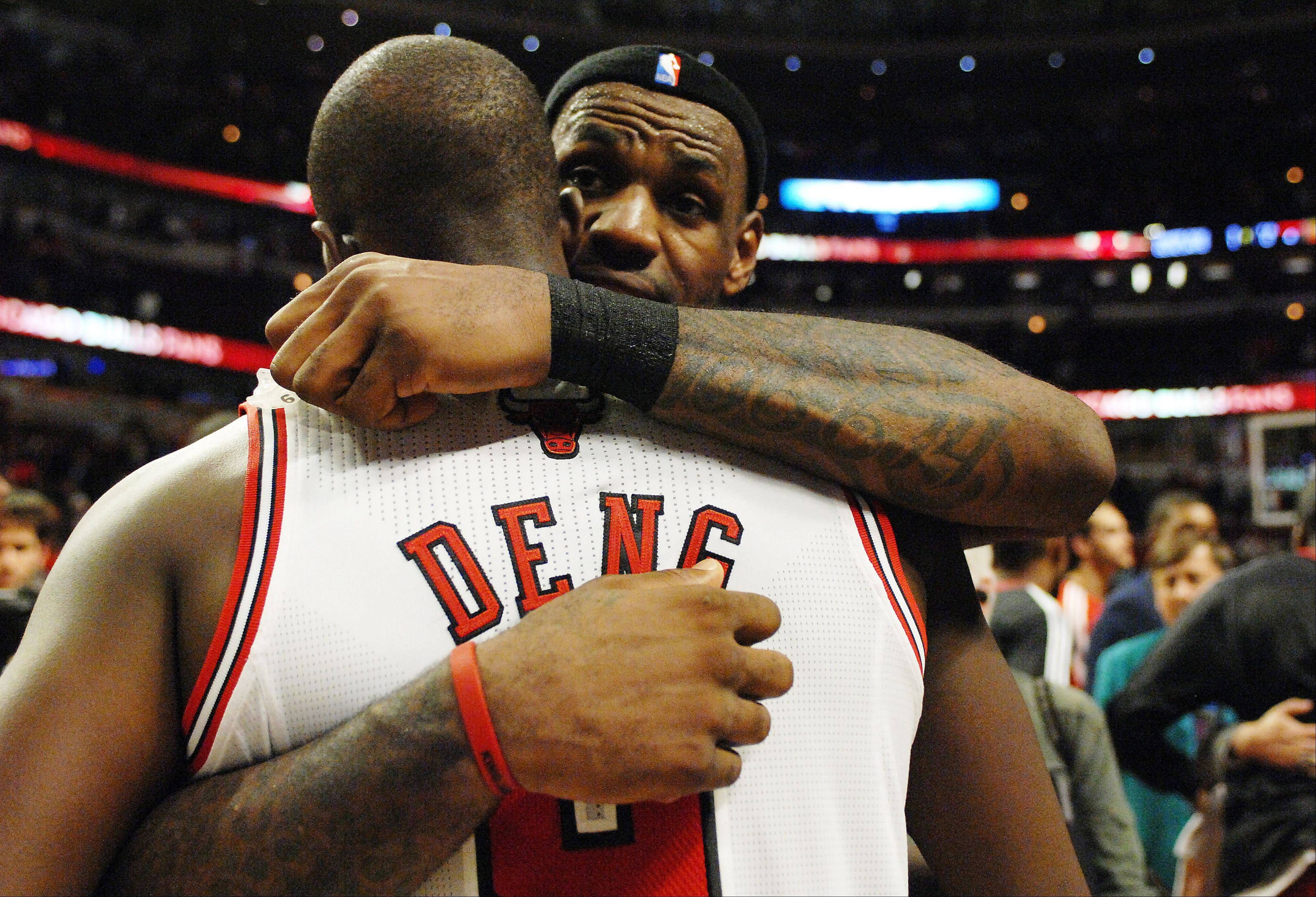 Images: Bulls vs. Heat, game five