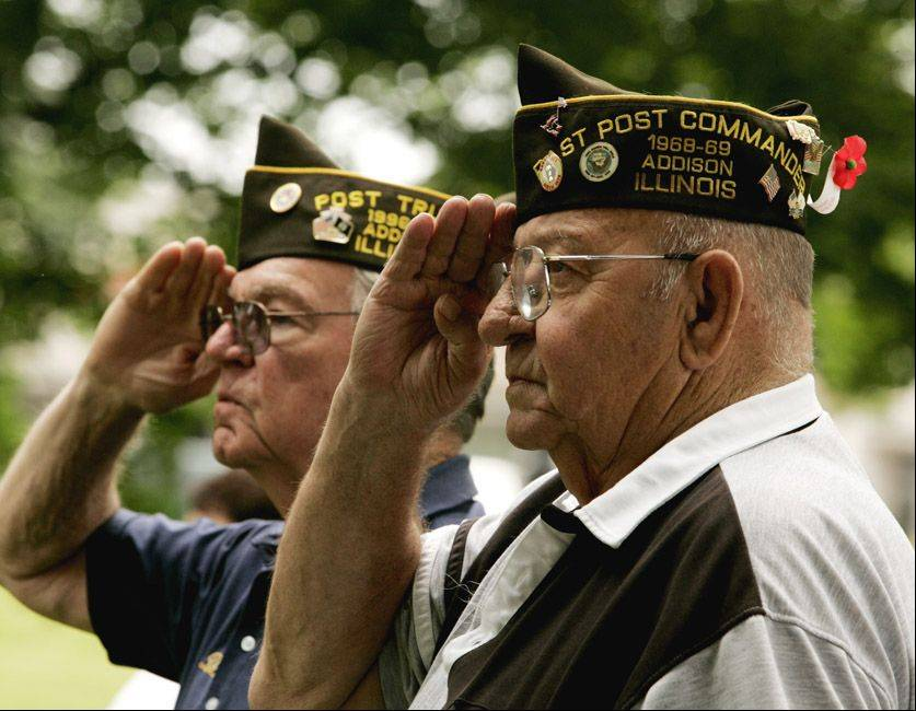 Memorial Day ceremonies throughout the suburbs this weekend will pay tribute to the nation's war dead.