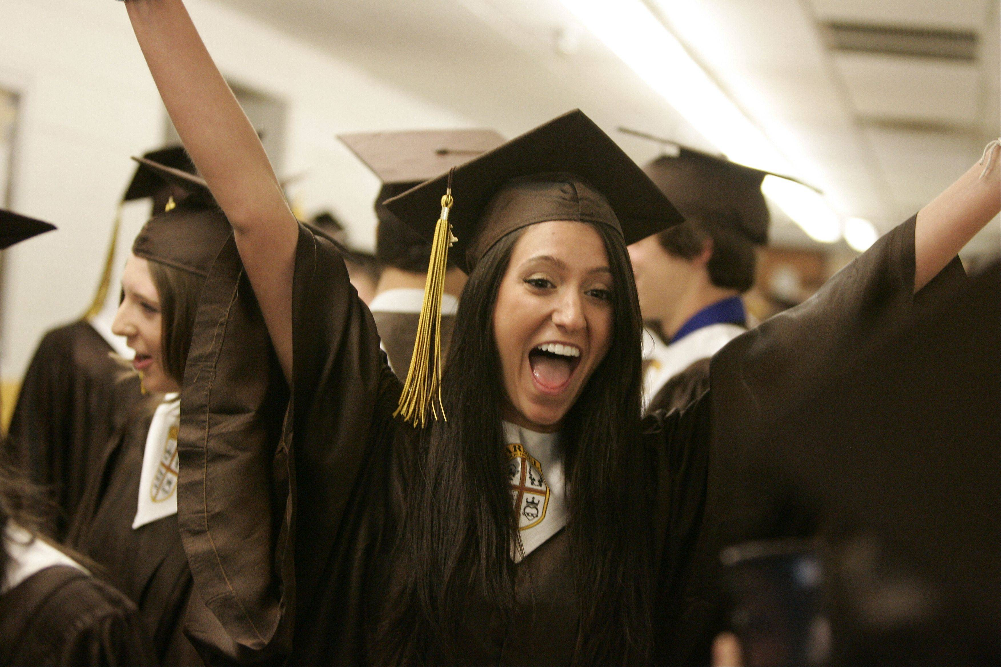 Images from the Carmel Catholic High School graduation Thursday, May 26.