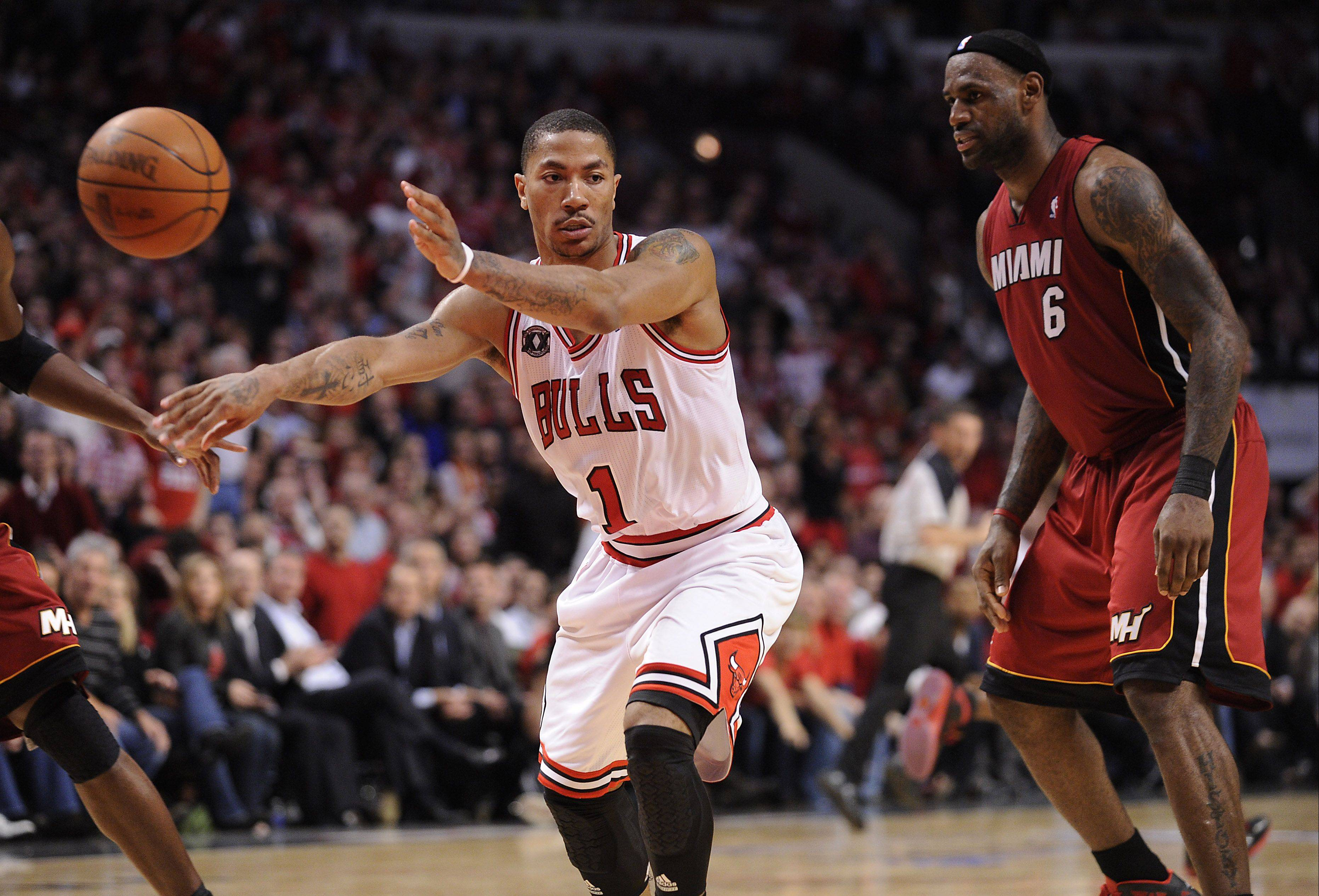 The Bulls' Derrick Rose learned some valuable lessons in the Eastern Conference playoff series against the Heat, a postseason education that should only increase his skills and abilities next season.