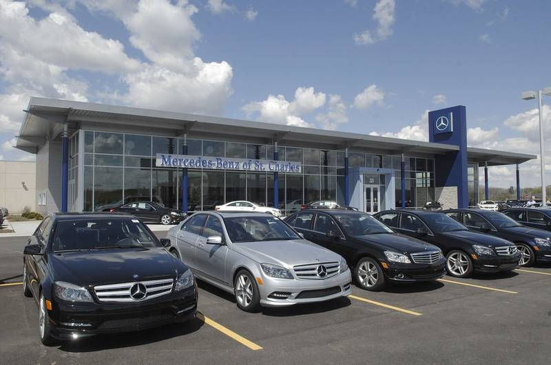 Mercedes on the move in st charles for St charles mercedes benz