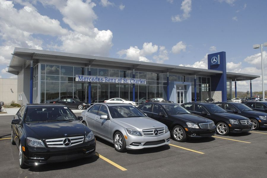 St Charles Mercedes >> Mercedes On The Move In St Charles