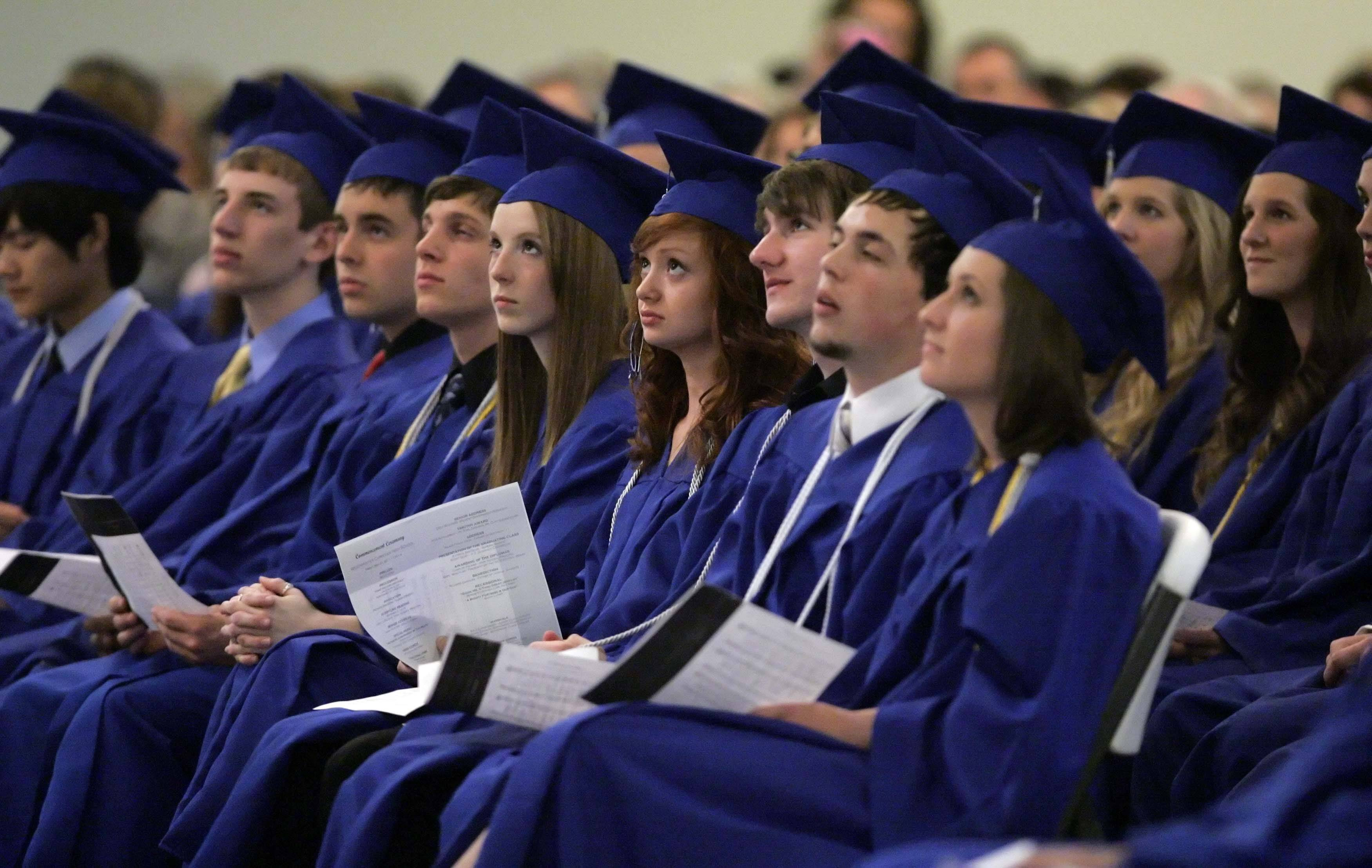 Images from the graduation ceremony at Westminster Christian High School Friday, May 27, 2011.