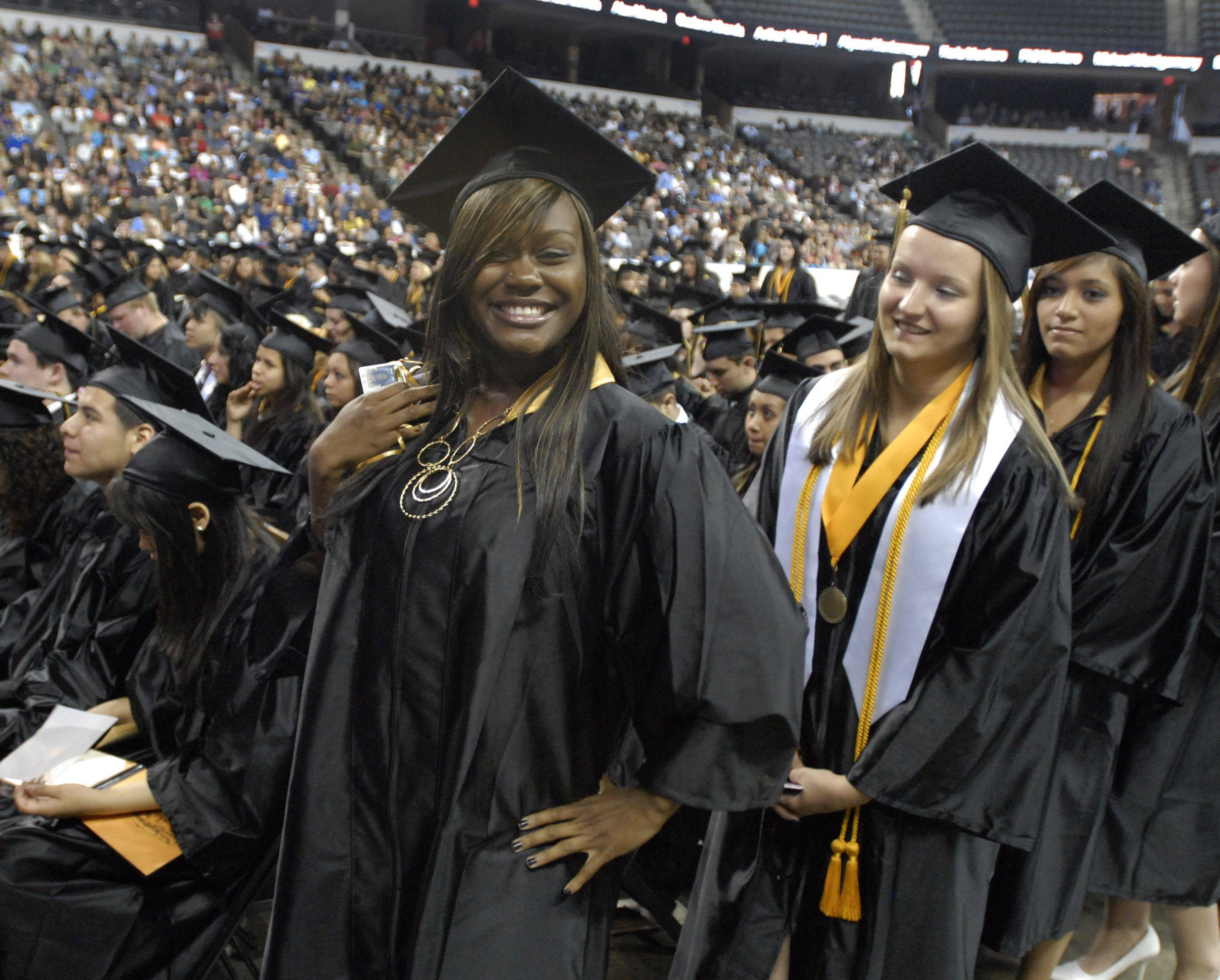 Images from the Streamwood high school graduation on May 28th at the Sears Centre.