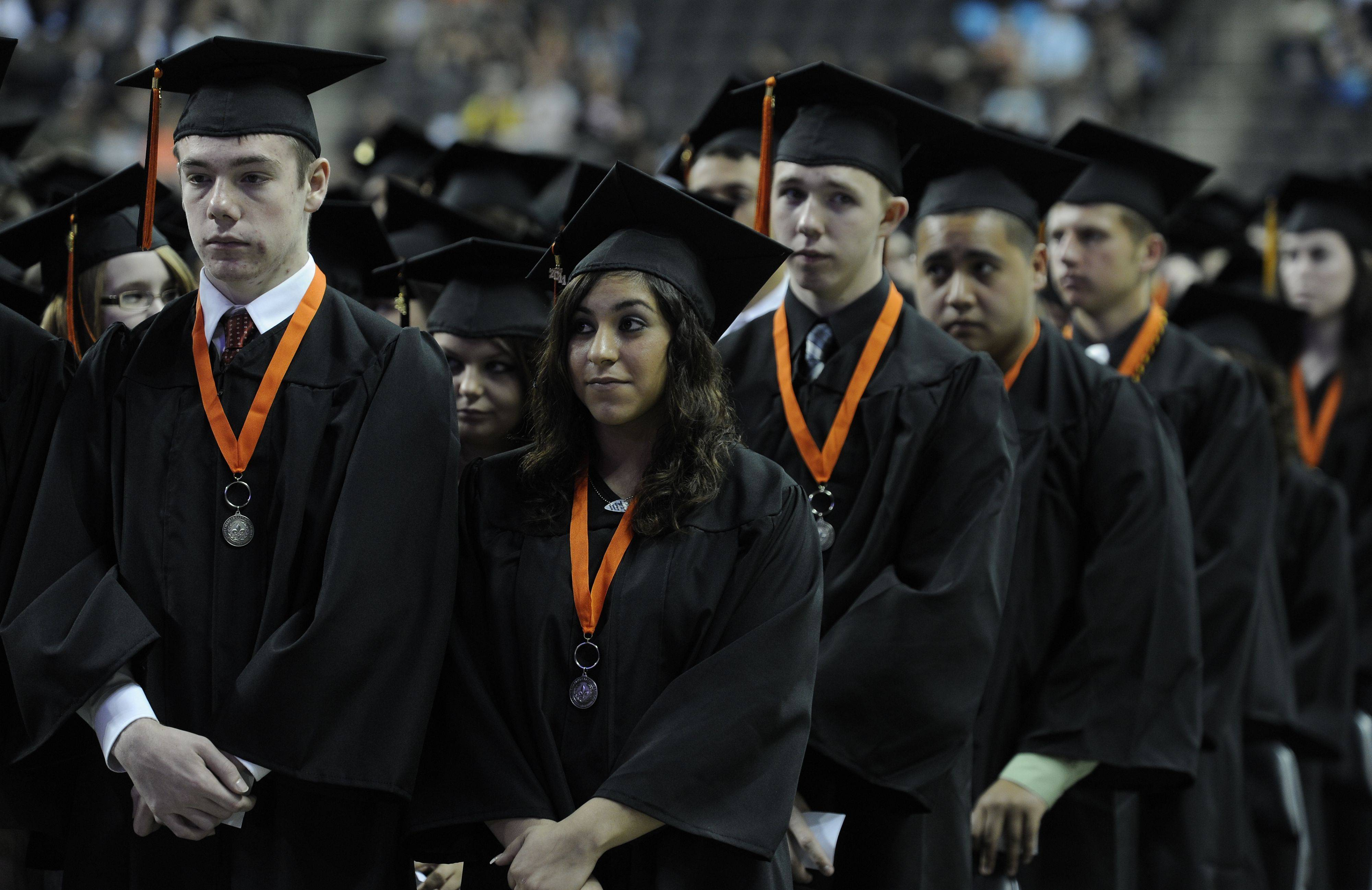 Images from the St. Charles East High School graduation Sunday, May 29, 2011.