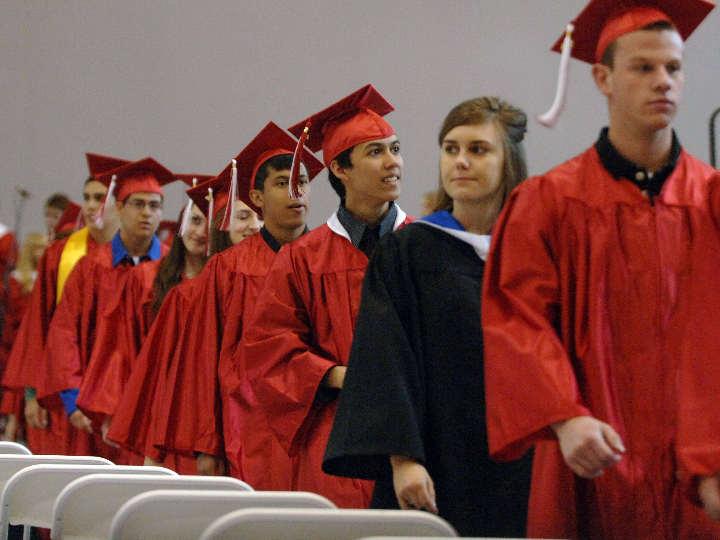 Images from the Grant High School graduation Saturday, May 28.
