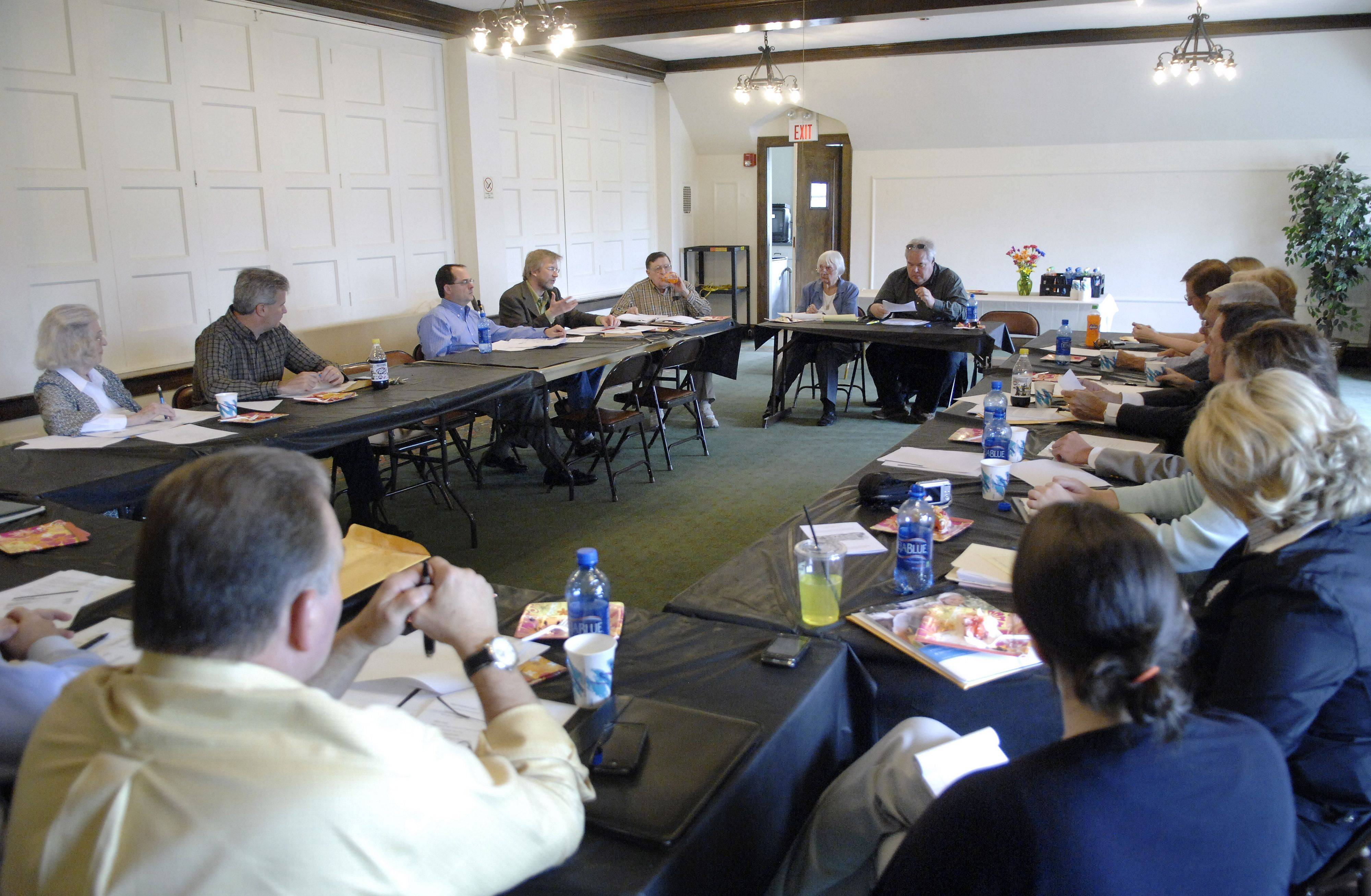 The Baker Community Center's annual board of directors meeting on May 19.