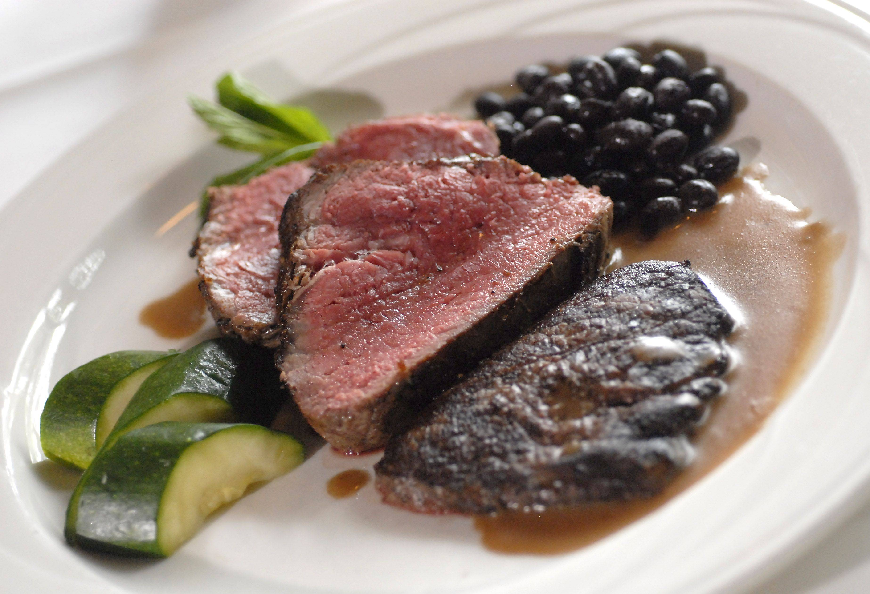 London Broil is among the many classic meat options available at Palm Court in Arlington Heights.