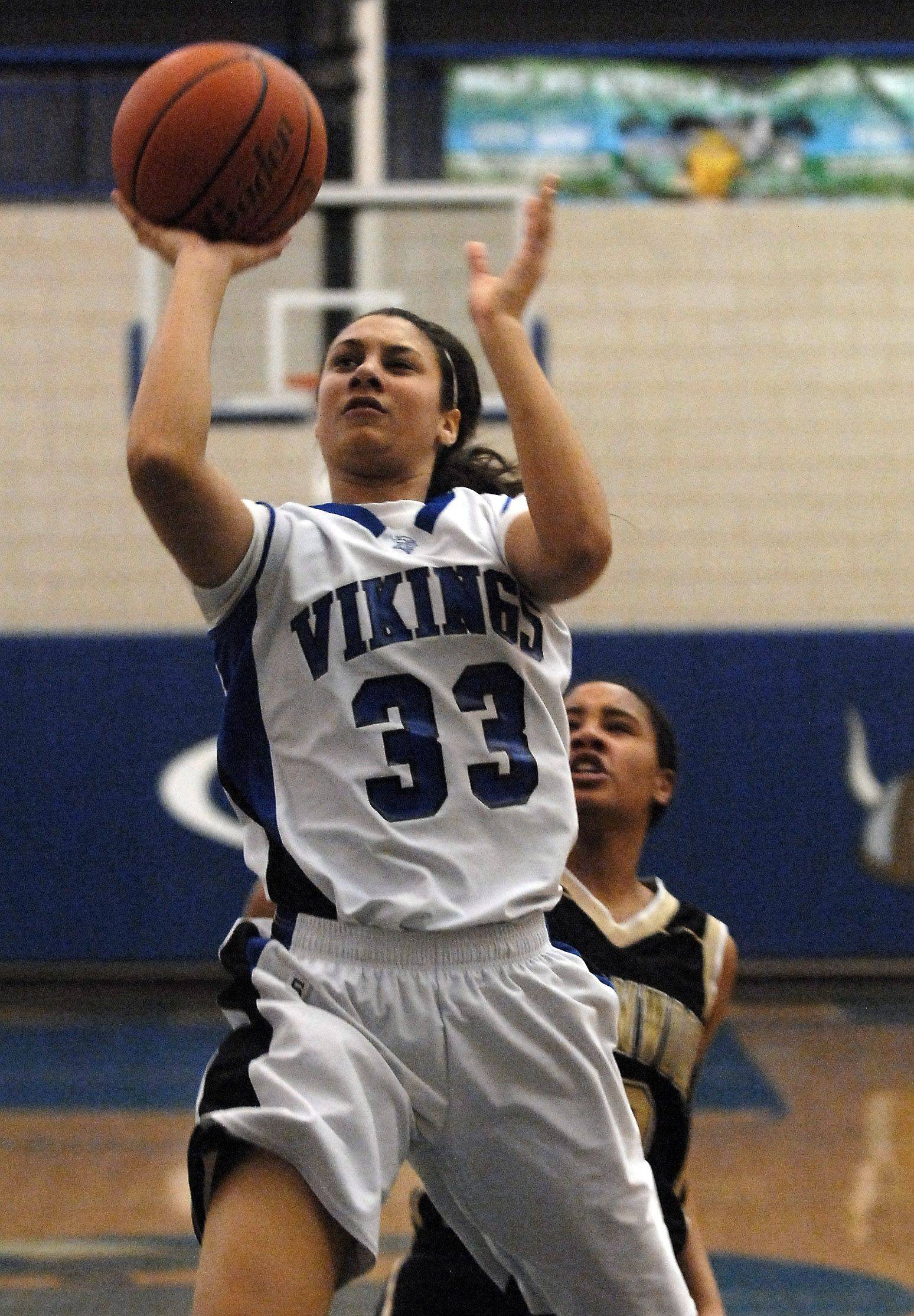 Geneva junior Ashley Santos has committed to Marquette to play college basketball.