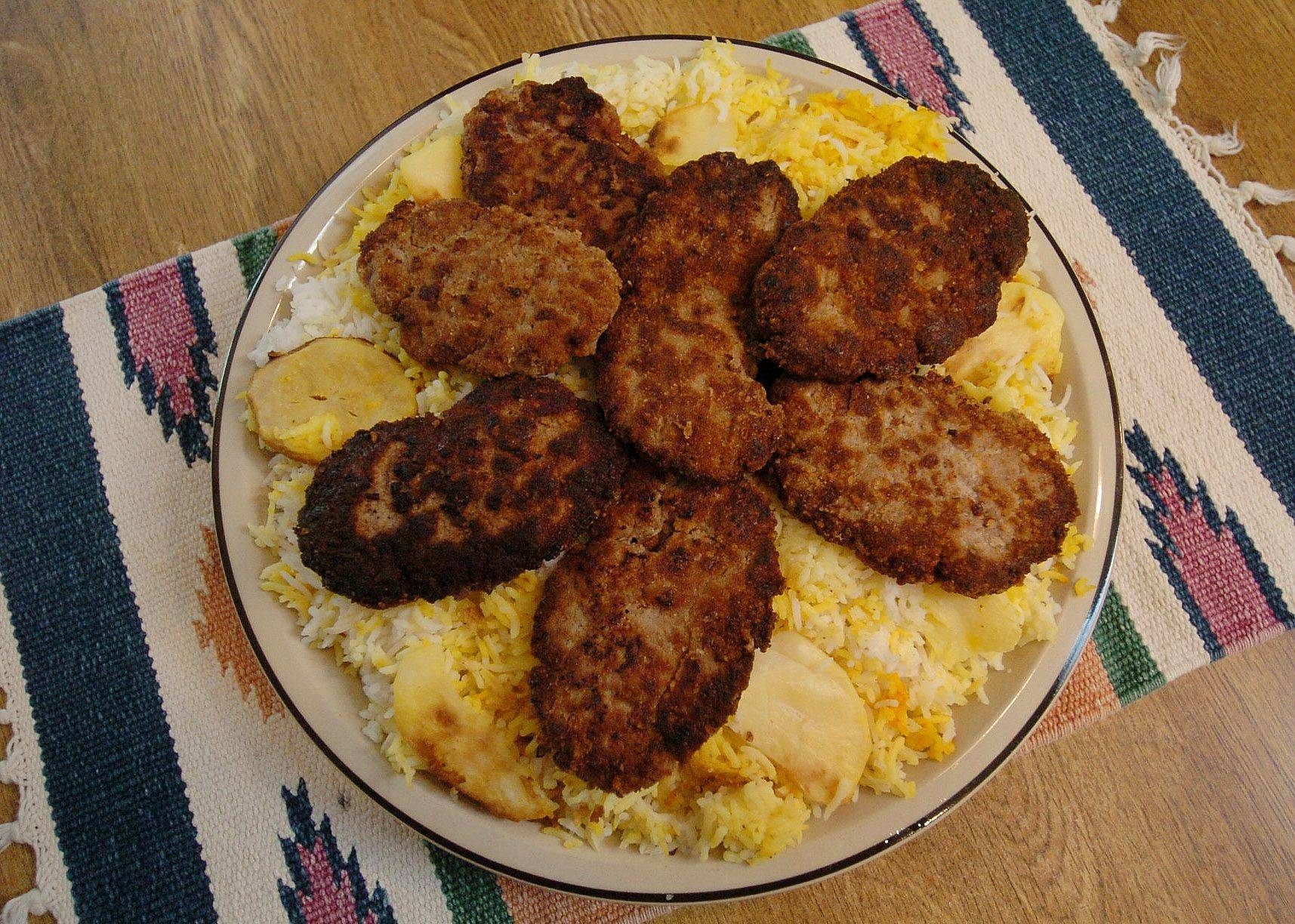 Cinnamon provides depth to Persian ground meat patties known as kotletes.