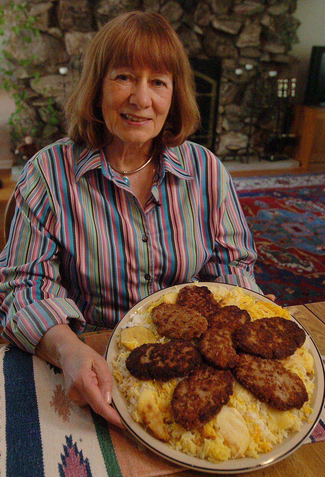Over the years Marion Behzad has learned to adapt recipes and substitute ingredients when making some of her husband's favorite Persian dishes, like these ground meat patties.