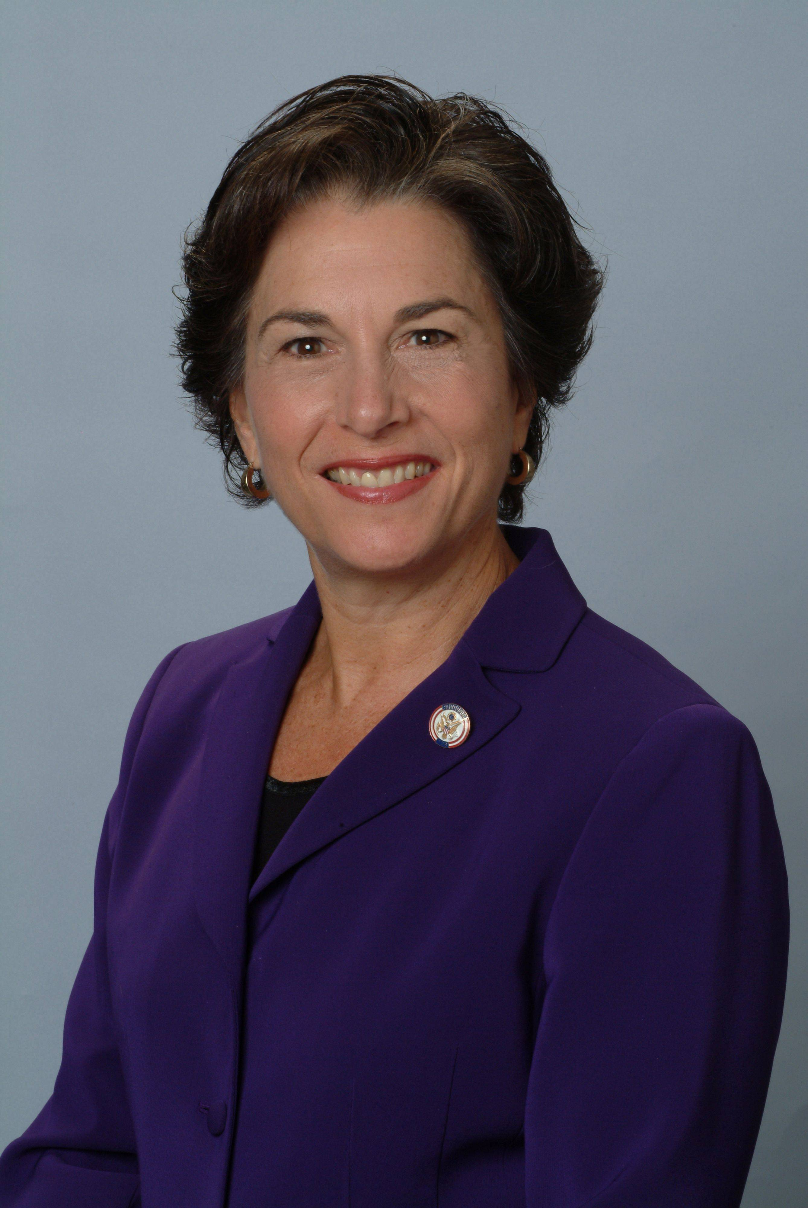 U.S. Rep. Jan Schakowsky, a Democrat from Evanston