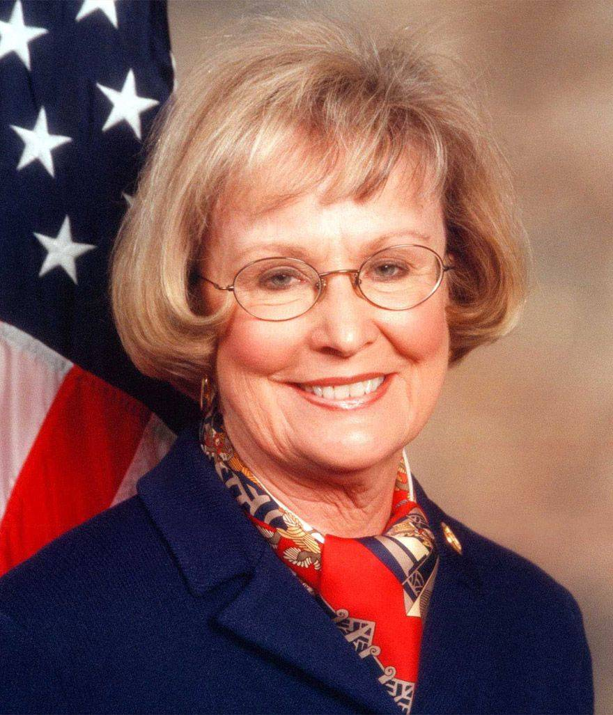 U.S. Rep. Judy Biggert, a Republican from Hinsdale