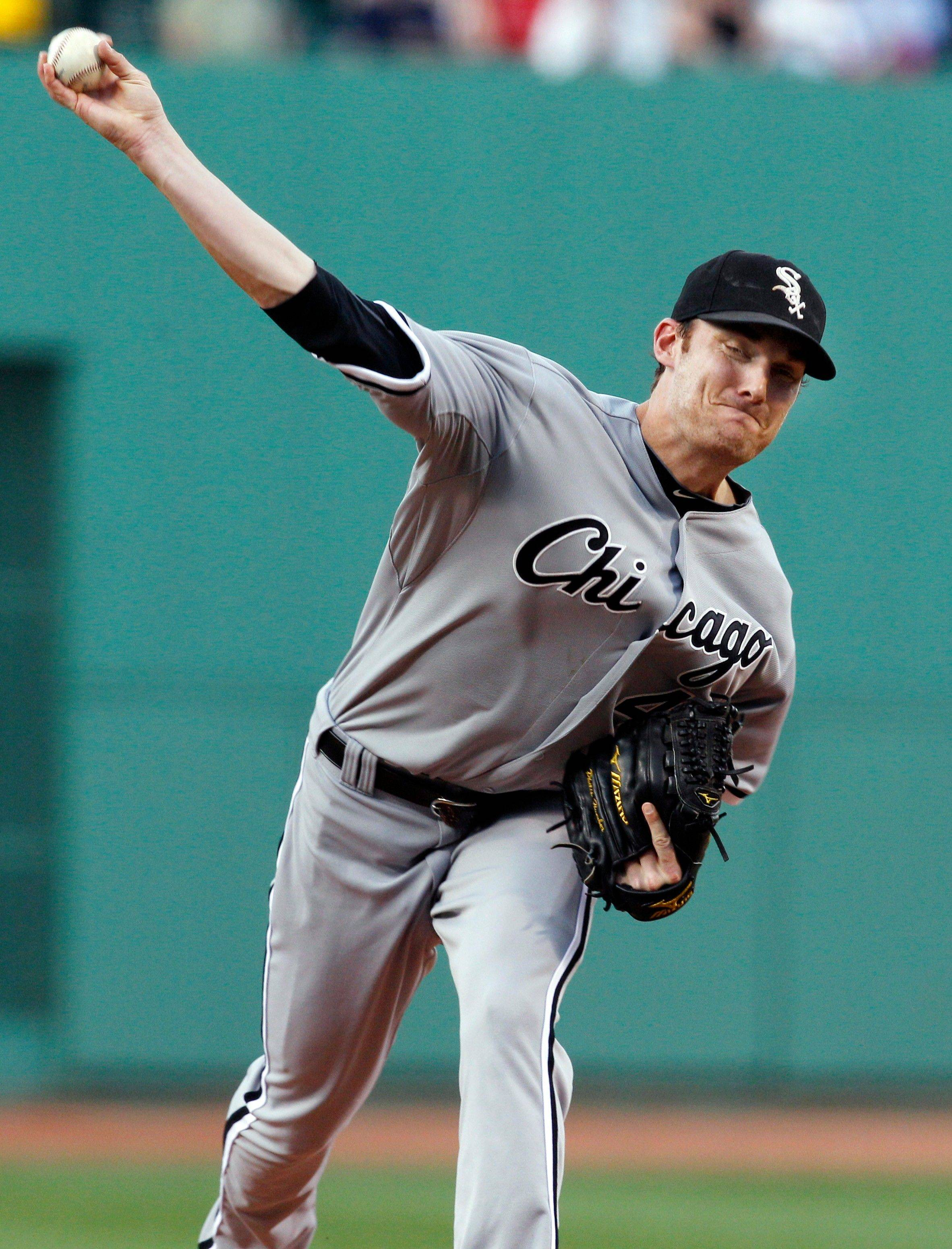 White Sox starting pitcher Philip Humber improved to 4-3 with Tuesday night's victory at Boston. His ERA is 3.06.