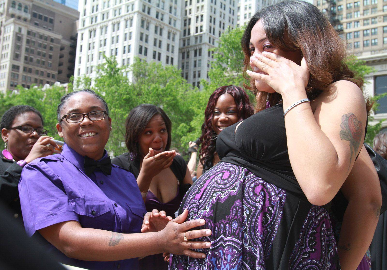 Ceremony forges Illinois' first civil unions