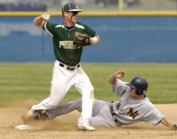 Tanner Giesel Of Neuqua Valley Comes Up Short Sliding Into Second As Kevin Defilippis Providence