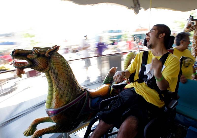 Special Needs Guests Enjoy Texas Theme Park