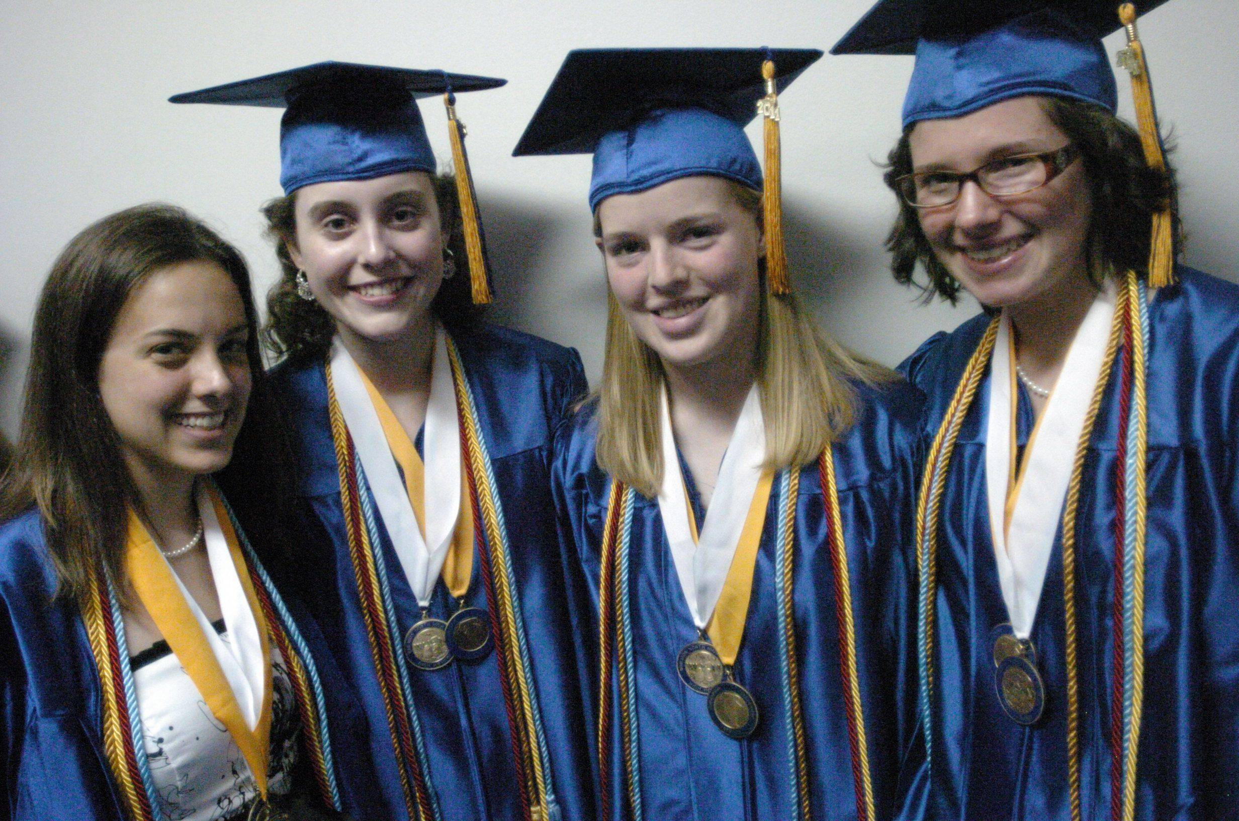 Images from the Wheaton North High School graduation on Saturday, June 4th at The College of DuPage in Glen Ellyn.