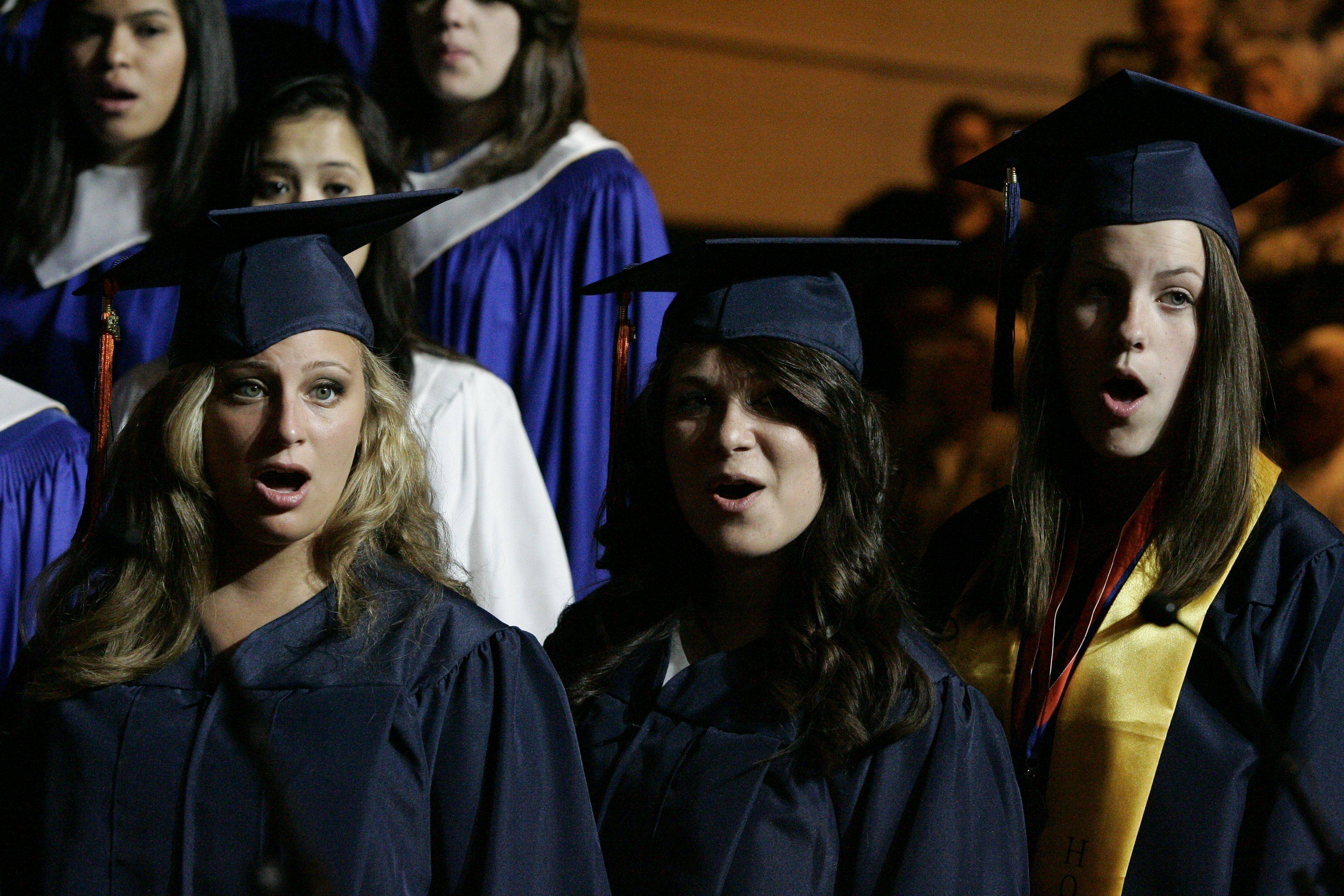 Images from the Buffalo Grove high school graduation on Sunday, June 5th.