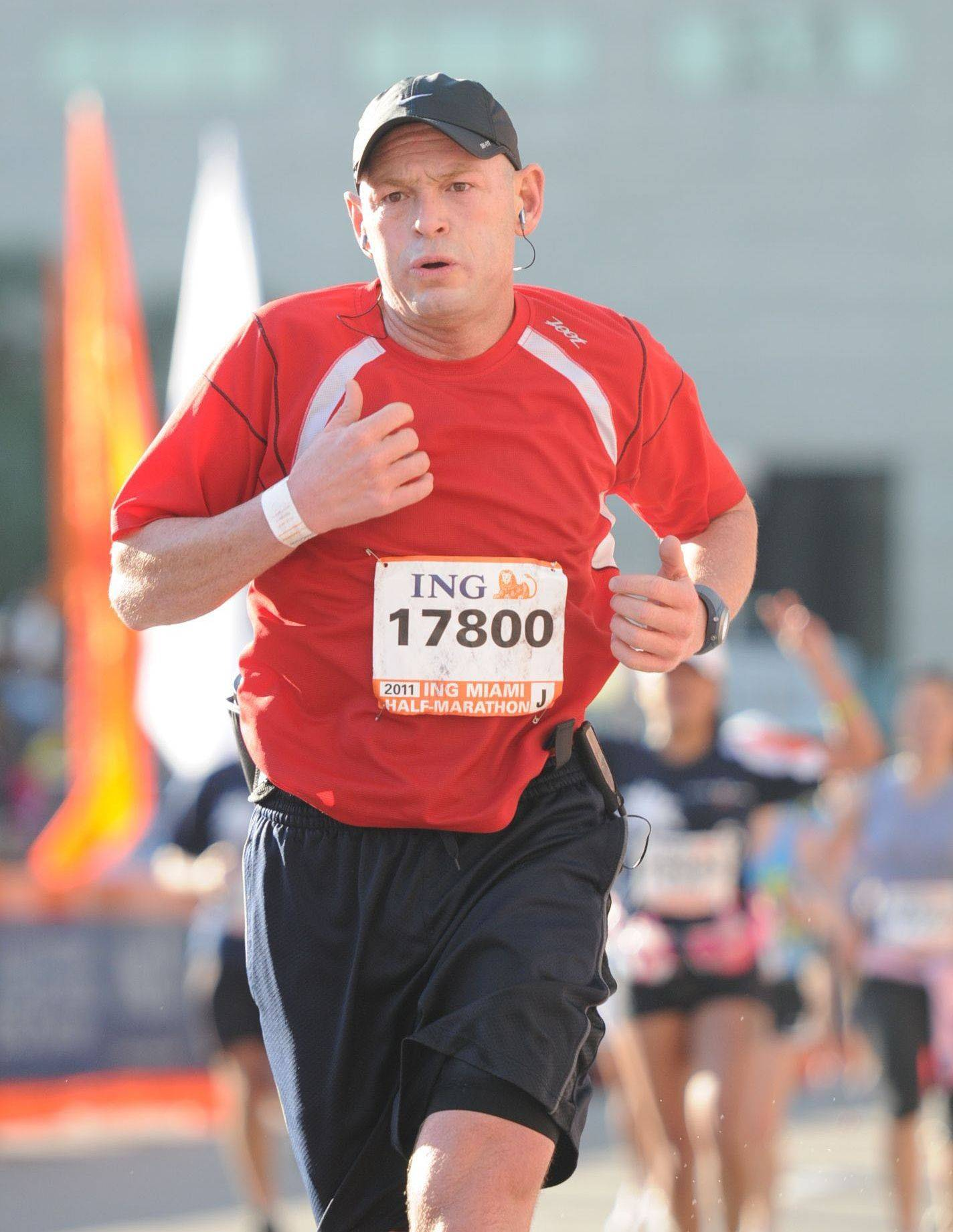 Ross Forman used the Insanity workout to prepare for Miami's half marathon in January.