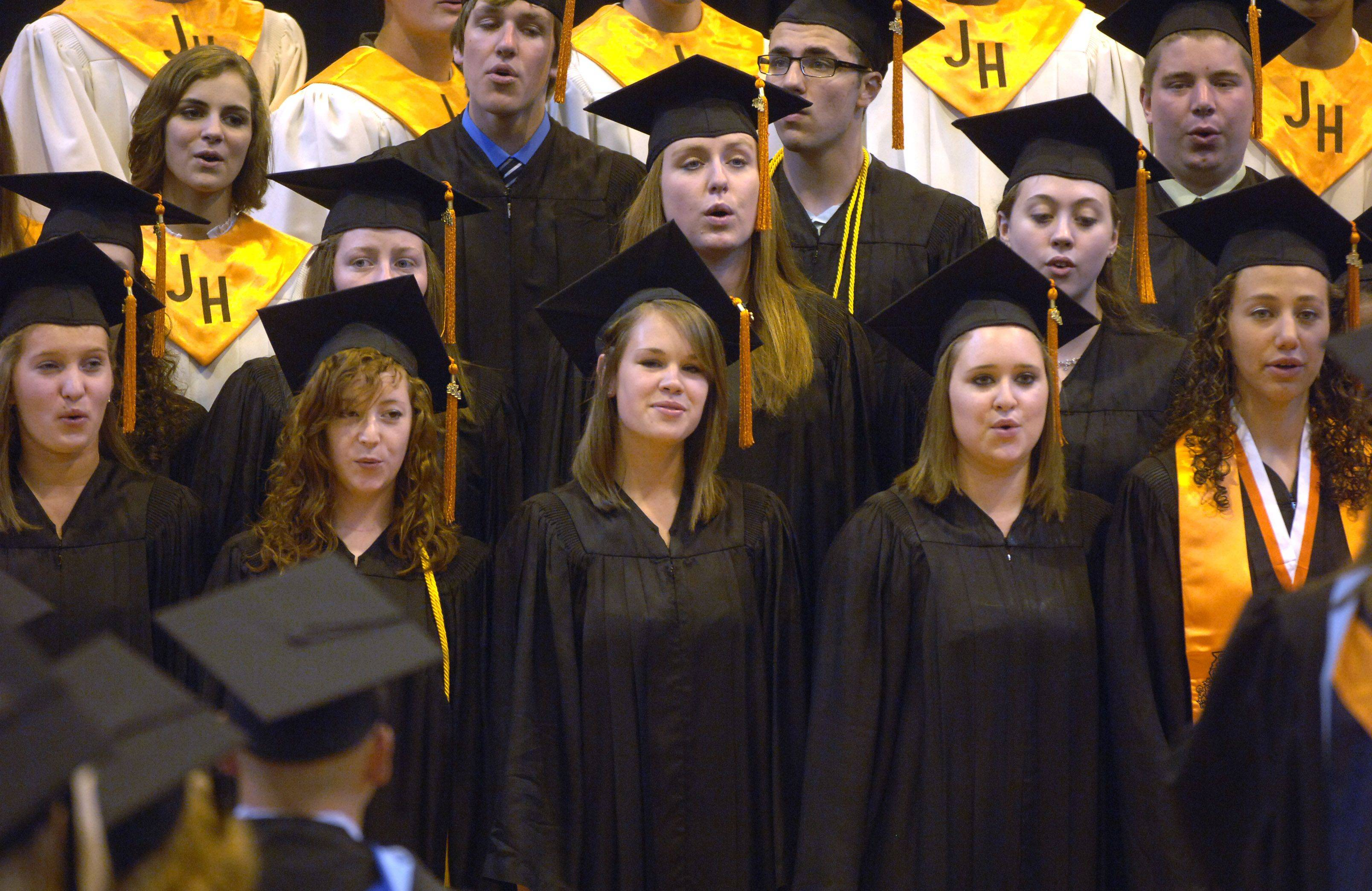 Images from the Hersey High School graduation on Sunday, June 5th.