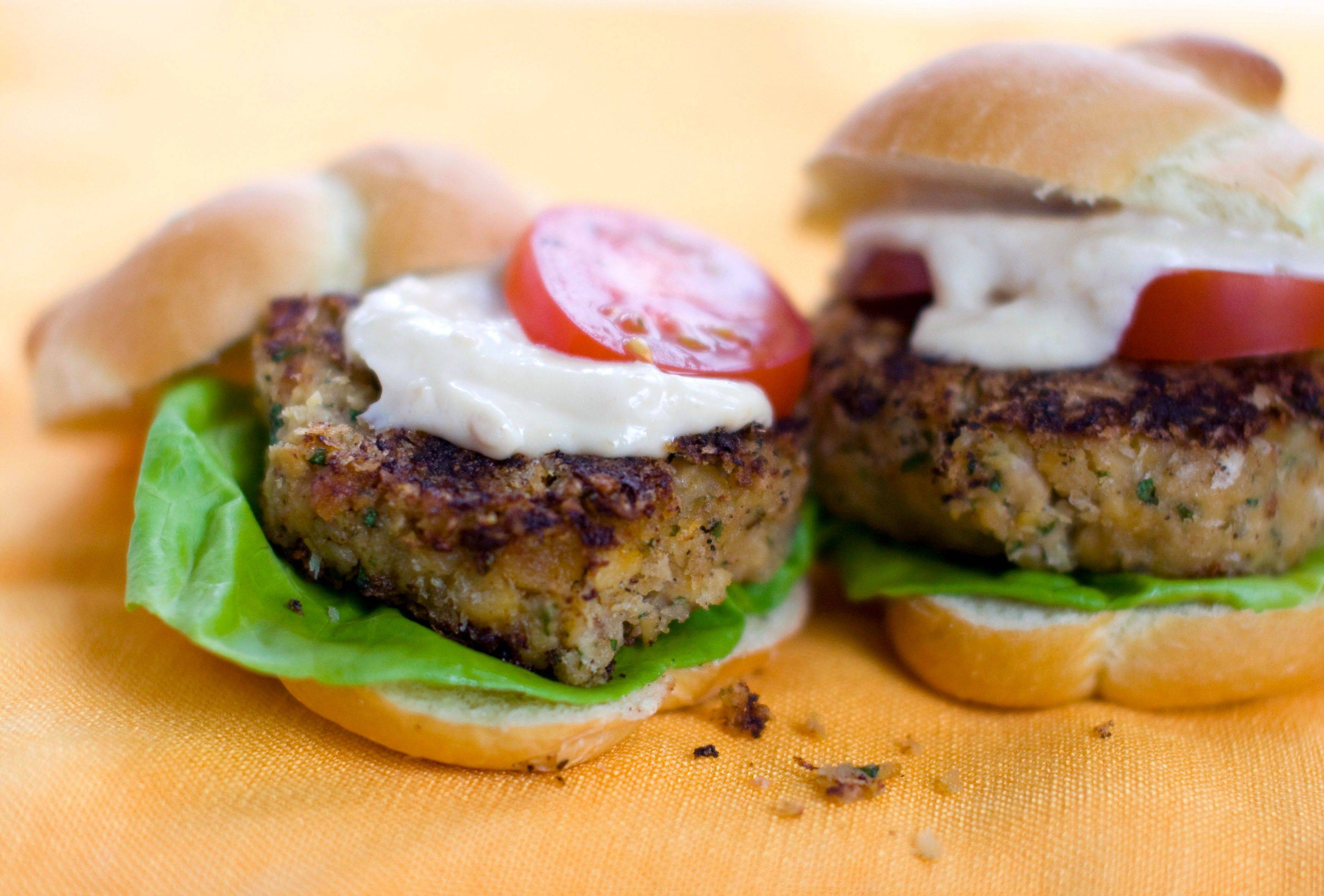 Miso Chickpea Sliders